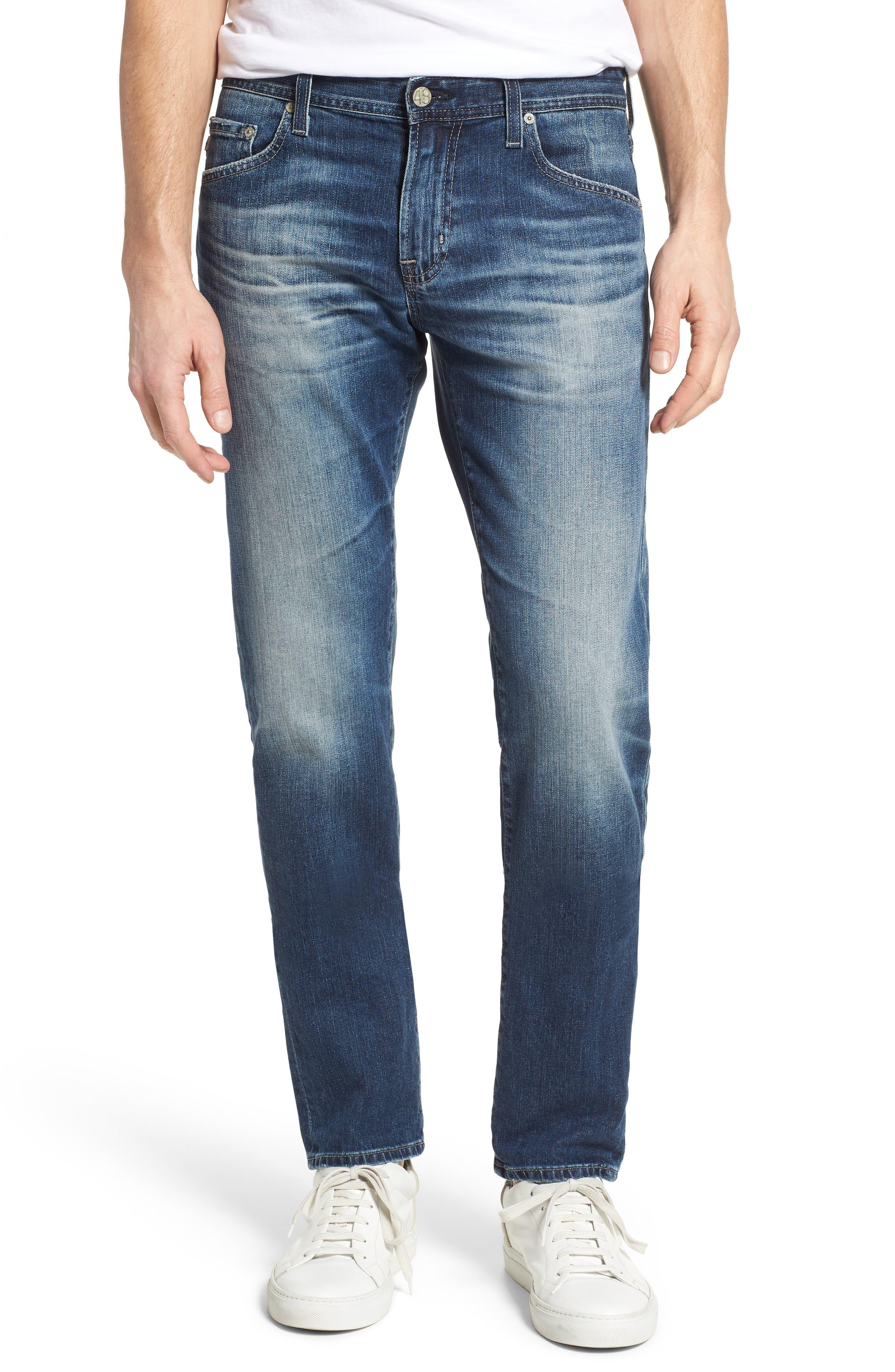 AG Tellis Slim Fit Jeans, Main, color, 417