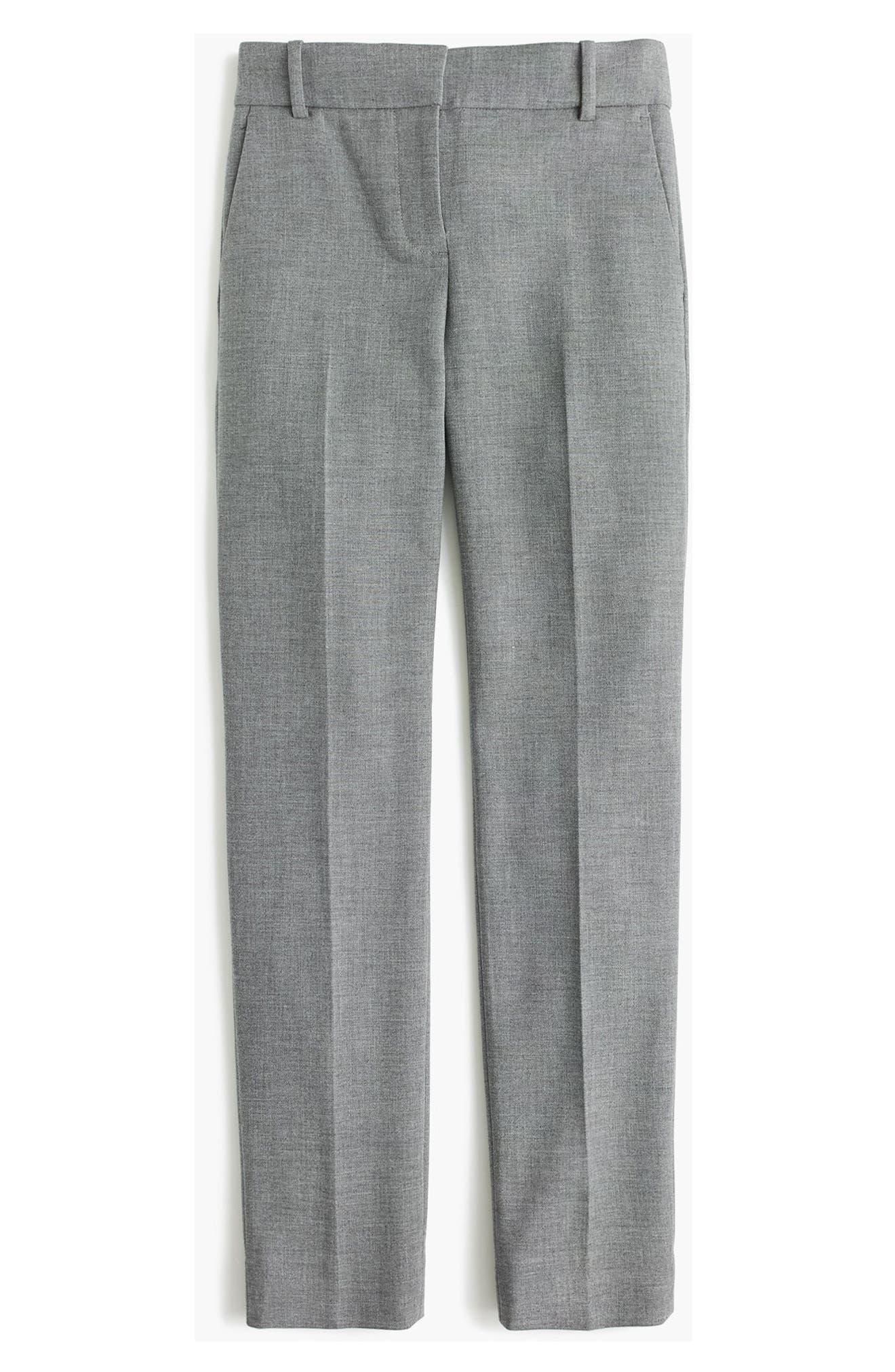 Cameron Four Season Crop Pants,                         Main,                         color, HEATHER GRAPHITE