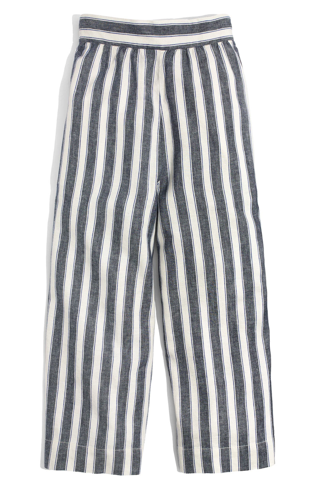 Huston Stripe Crop Pants,                             Alternate thumbnail 3, color,                             400