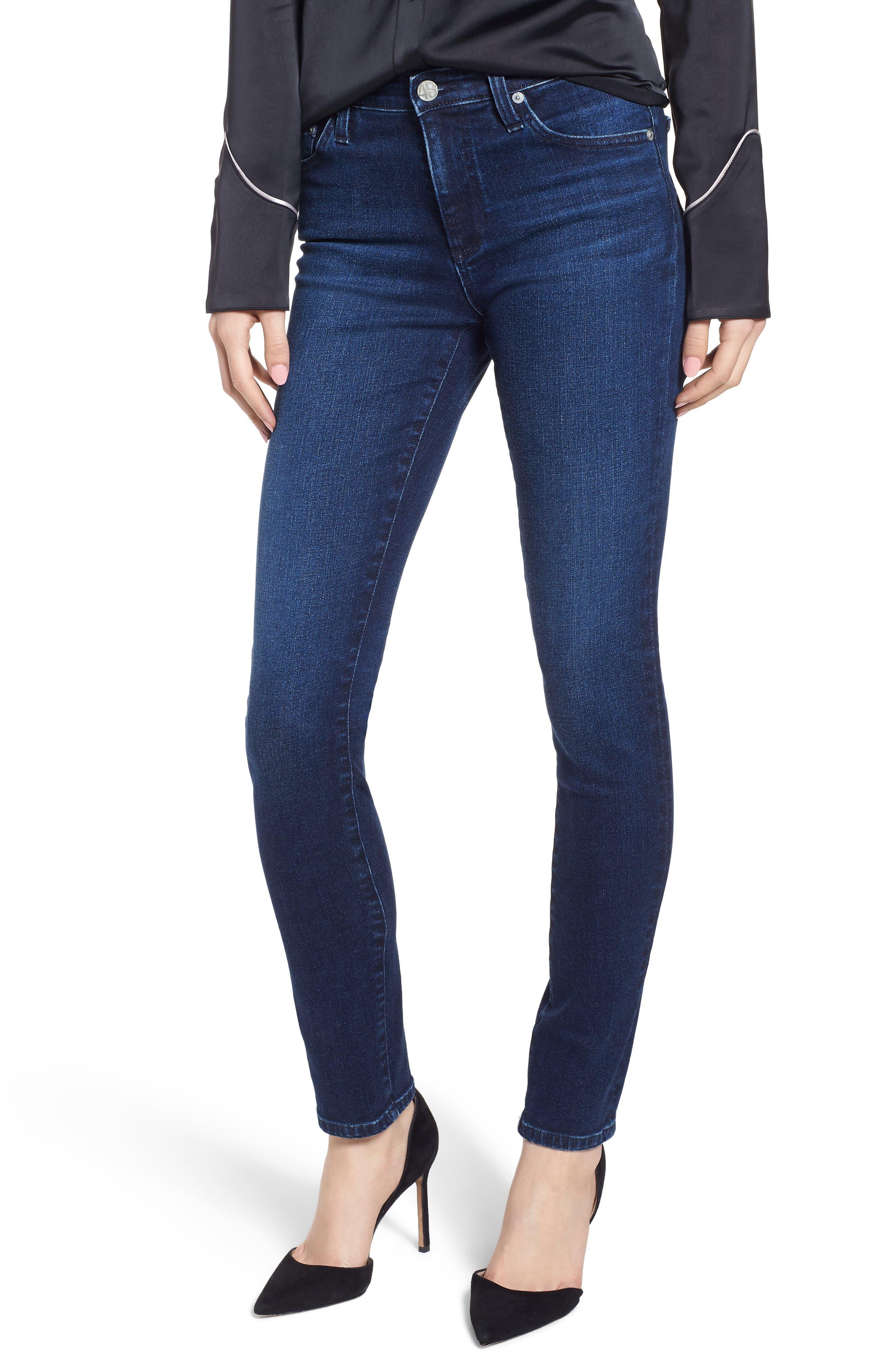 Prima Skinny Jeans,                             Main thumbnail 1, color,                             416