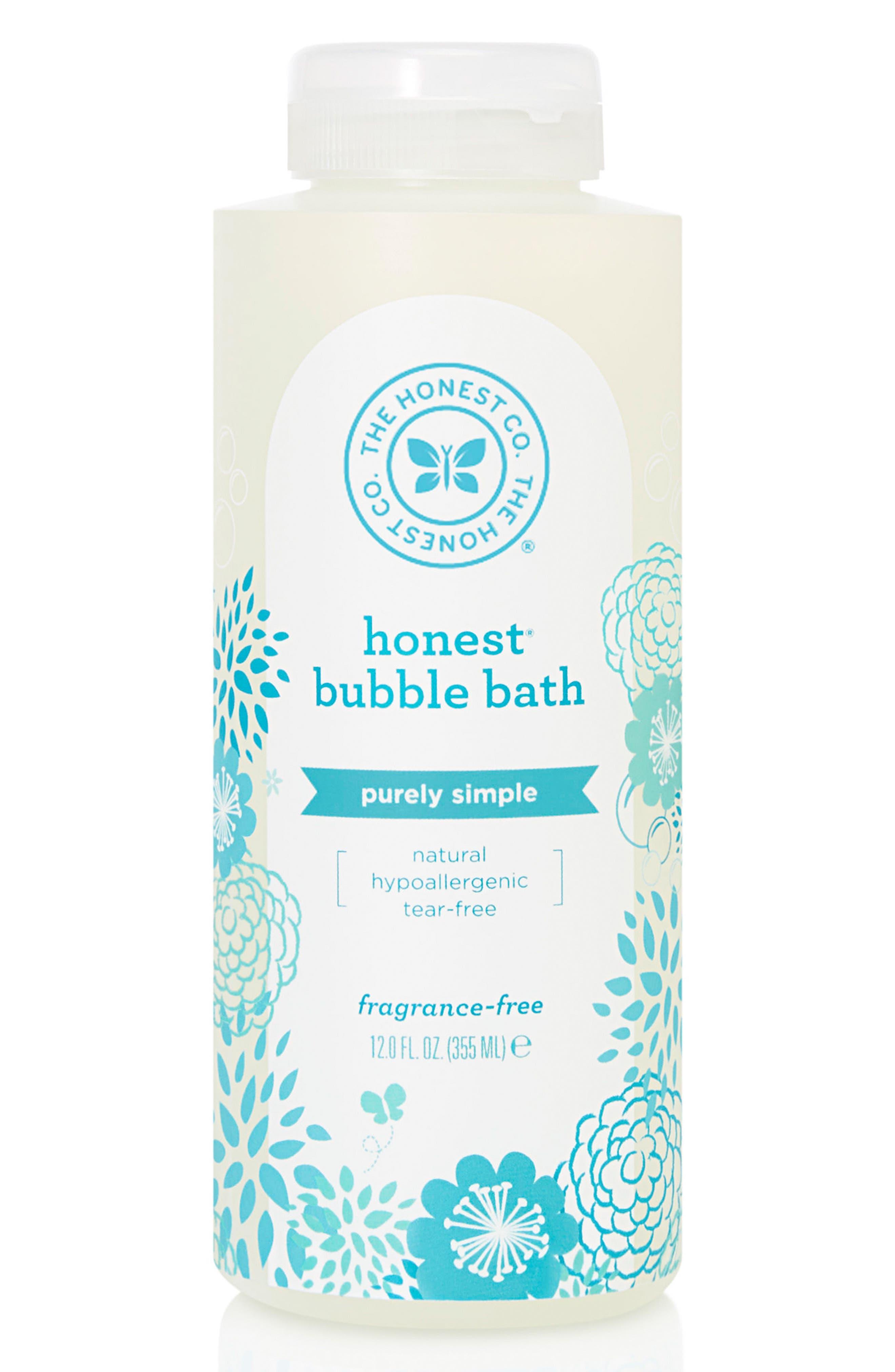 Fragrance-Free Bubble Bath,                         Main,                         color, BLUE & WHITE