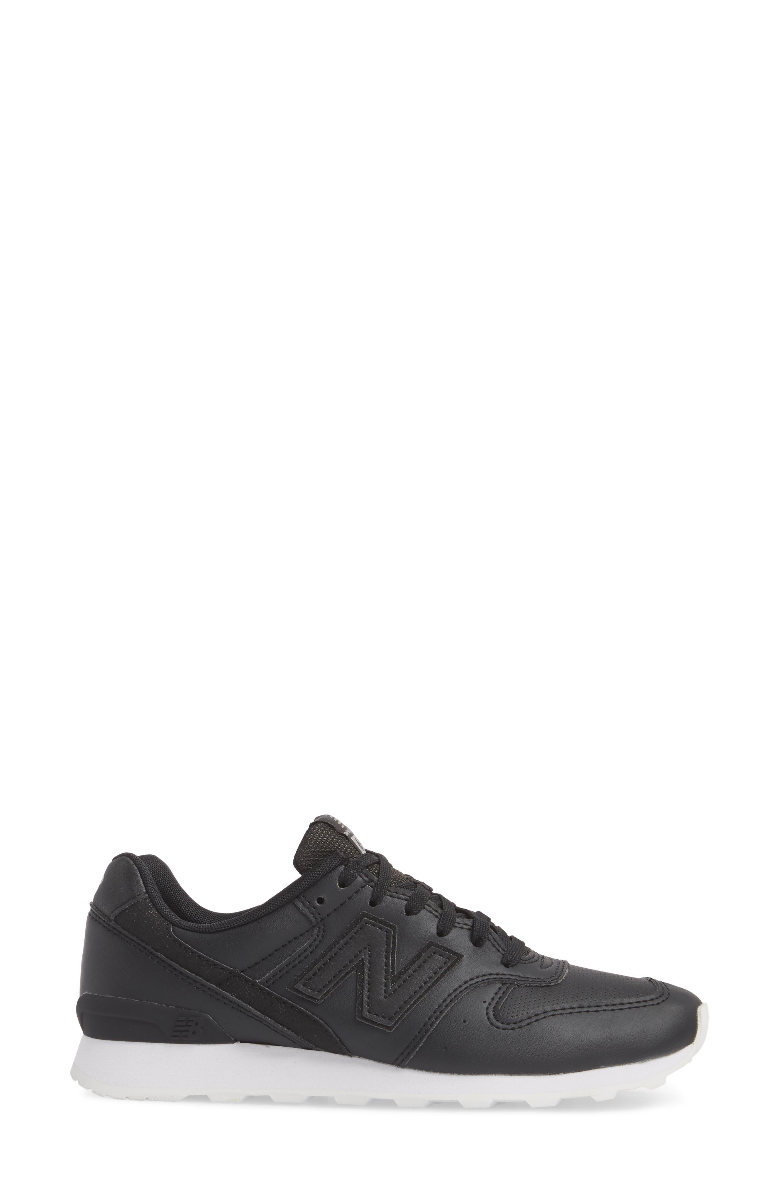 696 Sneaker,                             Alternate thumbnail 3, color,                             001