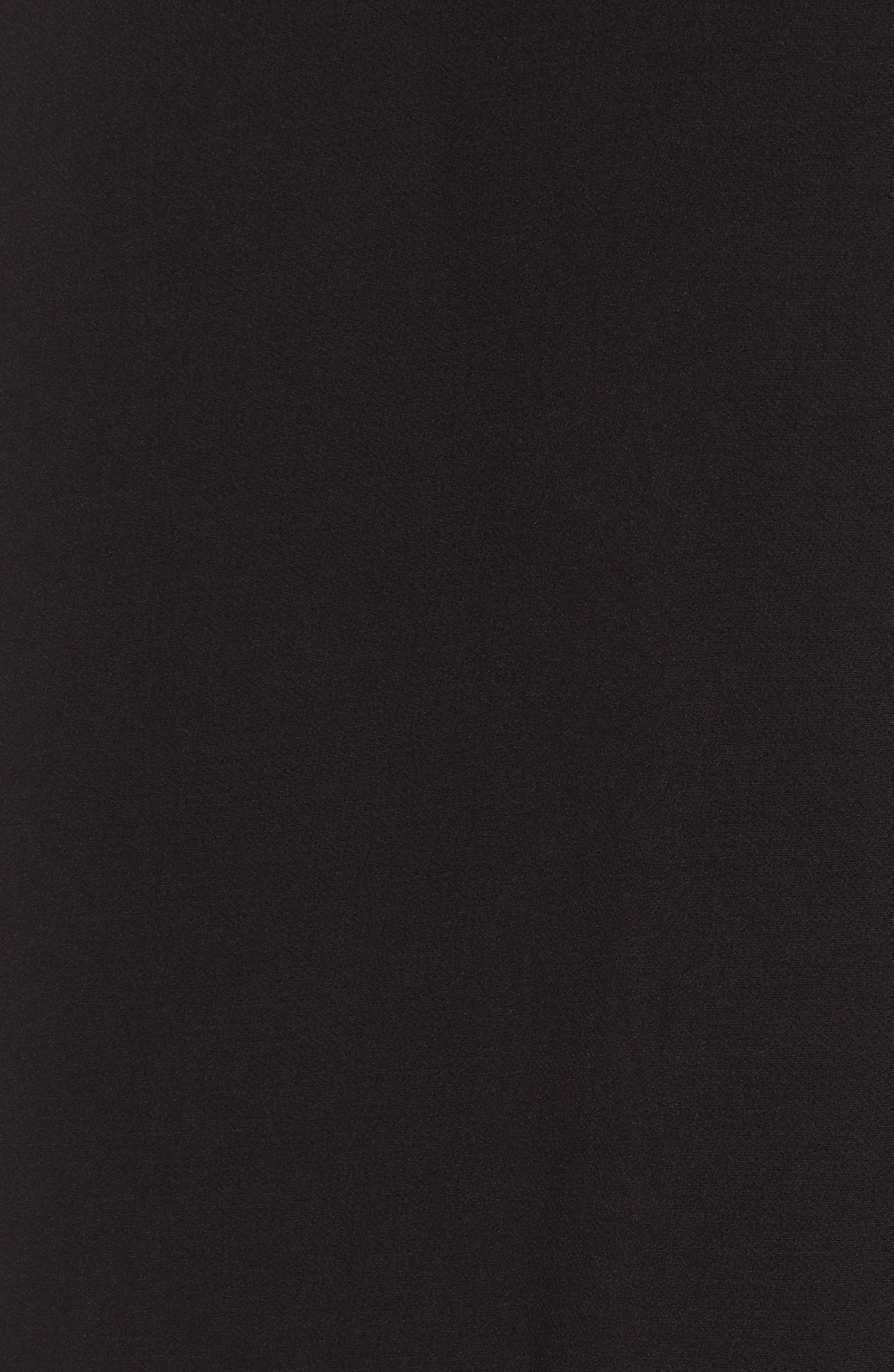 ELLIATT,                             Sorrento Cape Dress,                             Alternate thumbnail 6, color,                             001