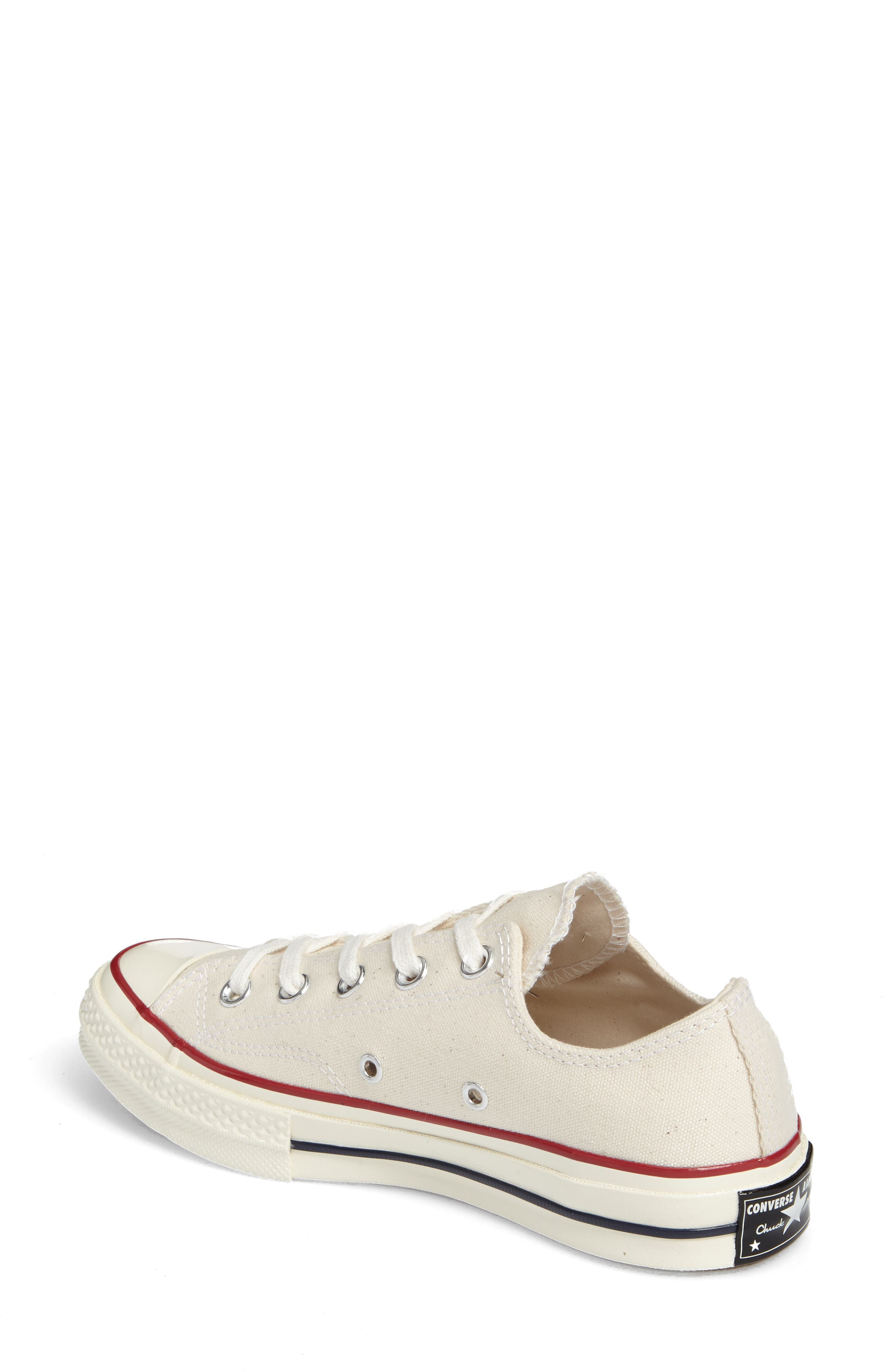 Chuck Taylor<sup>®</sup> All Star<sup>®</sup> Ox Low Top Sneaker,                             Alternate thumbnail 2, color,                             PARCHMENT