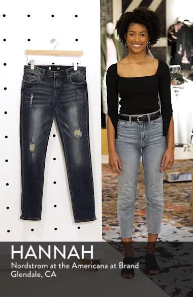 Catherine Ripped Boyfriend Jeans, sales video thumbnail