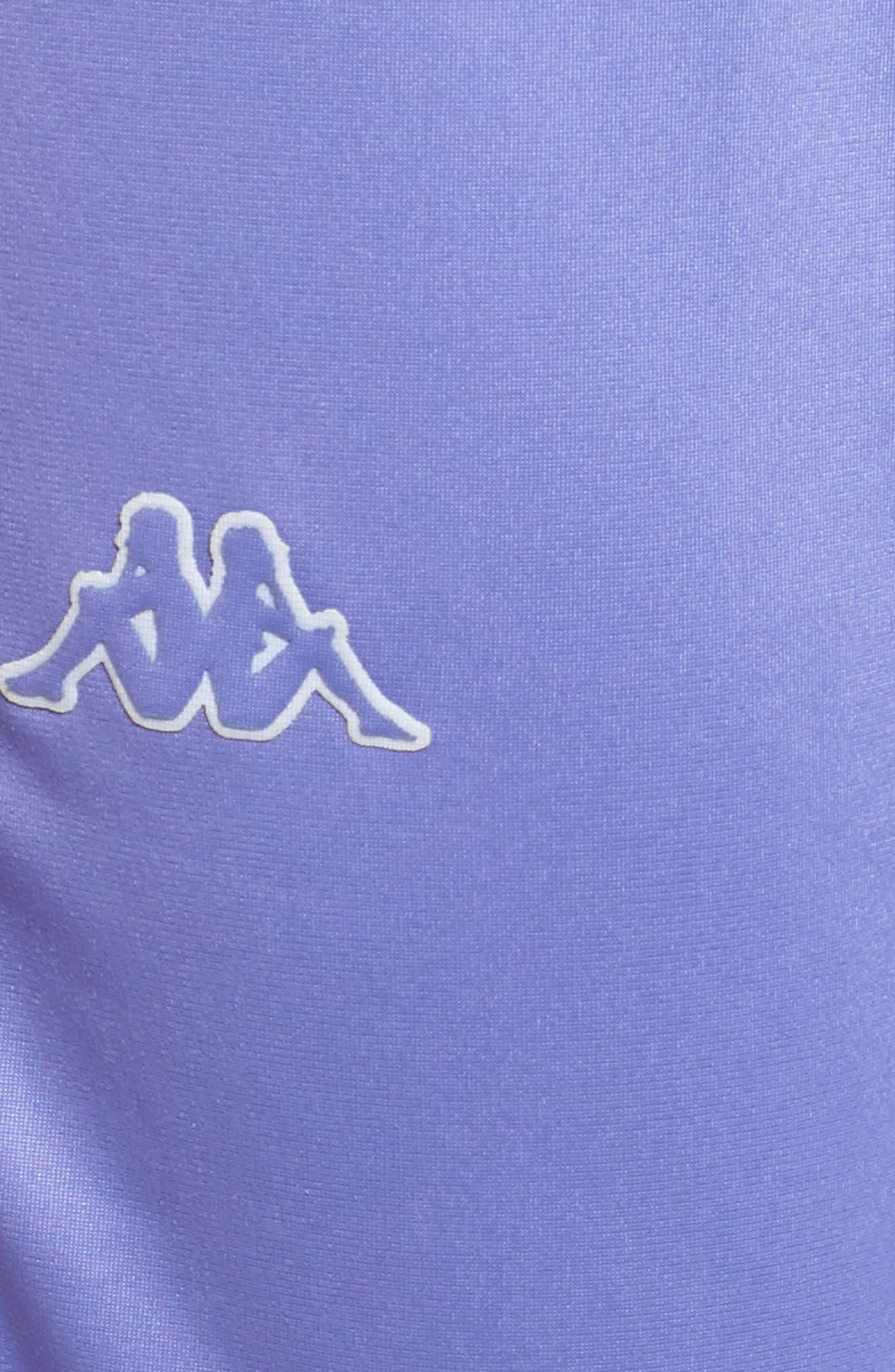 Active Wastoria Track Pants,                             Alternate thumbnail 6, color,                             VIOLET-WHITE