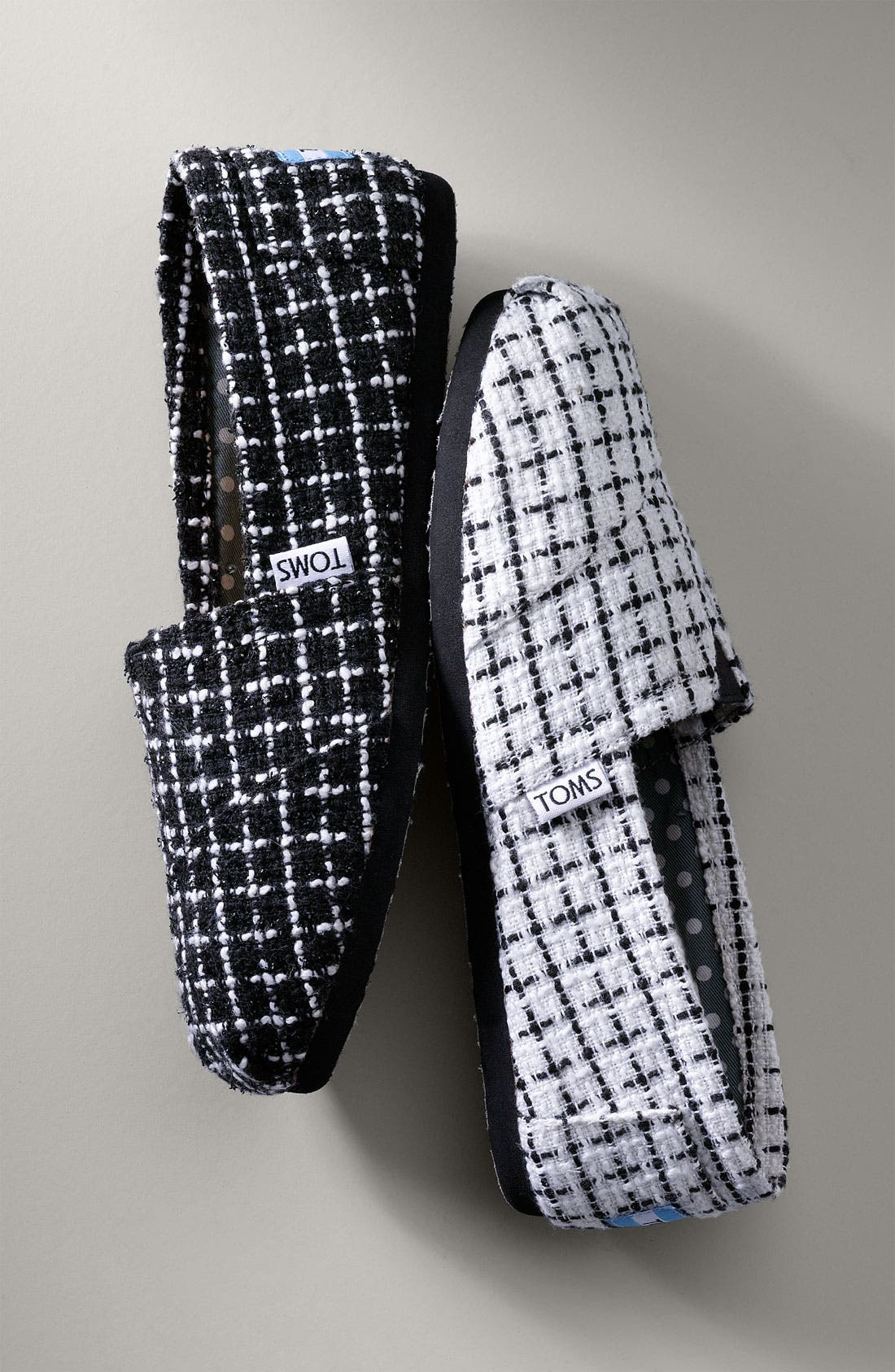 'Classic' Tweed Slip-On,                             Alternate thumbnail 5, color,                             002