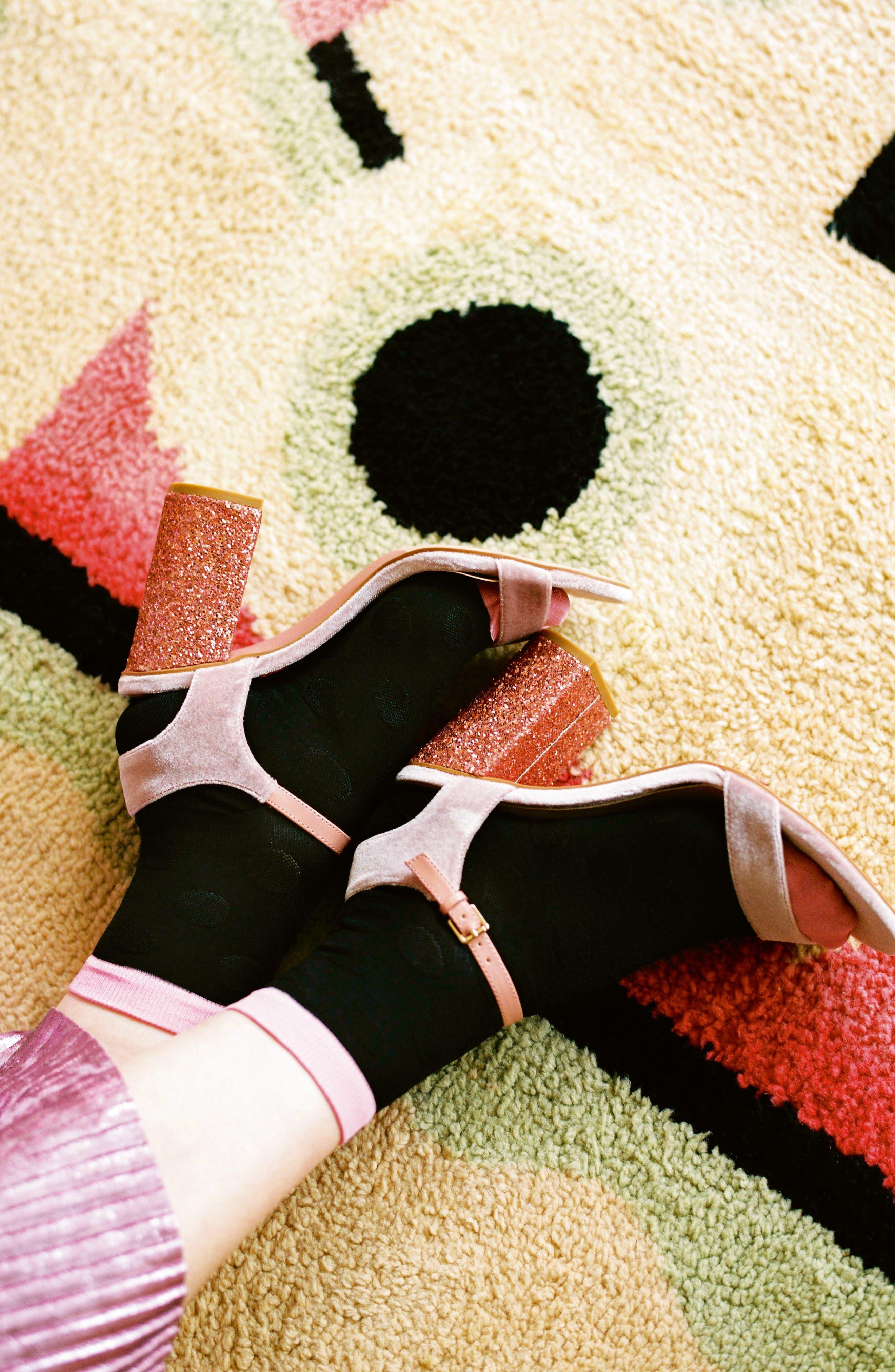 Viktoria Ankle Socks,                             Alternate thumbnail 4, color,                             016