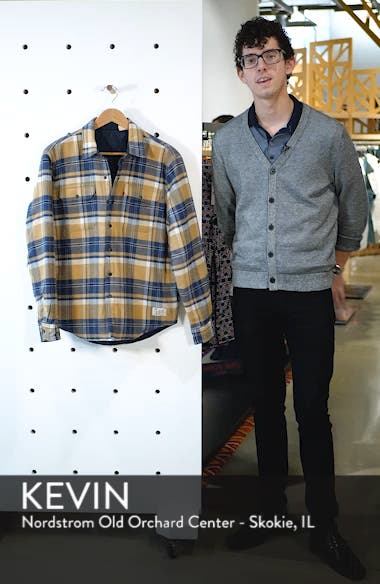x Justin Timberlake Reversible Shirt Jacket, sales video thumbnail