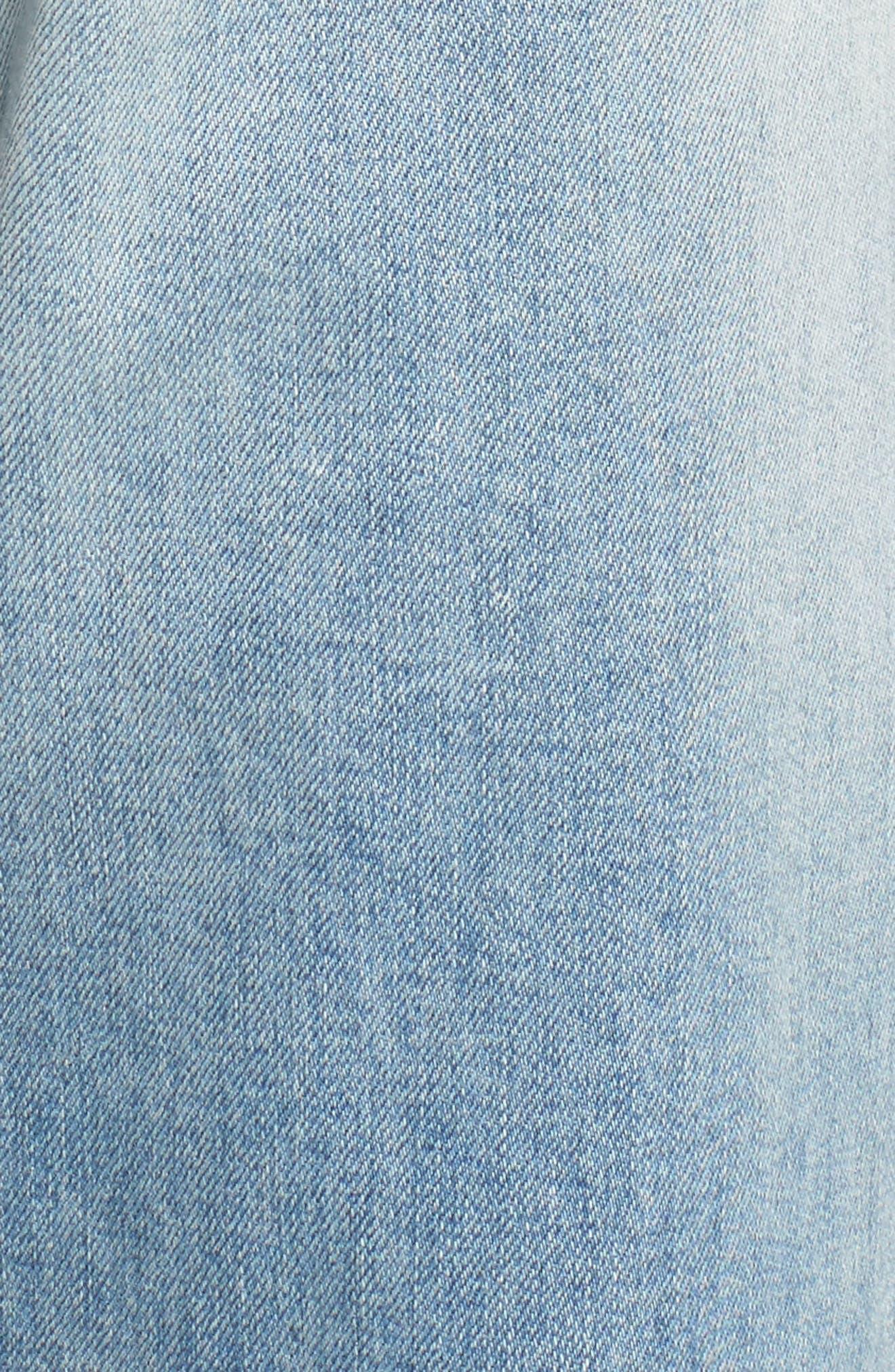 TREASURE & BOND,                             Boyfriend Jeans,                             Alternate thumbnail 5, color,                             400