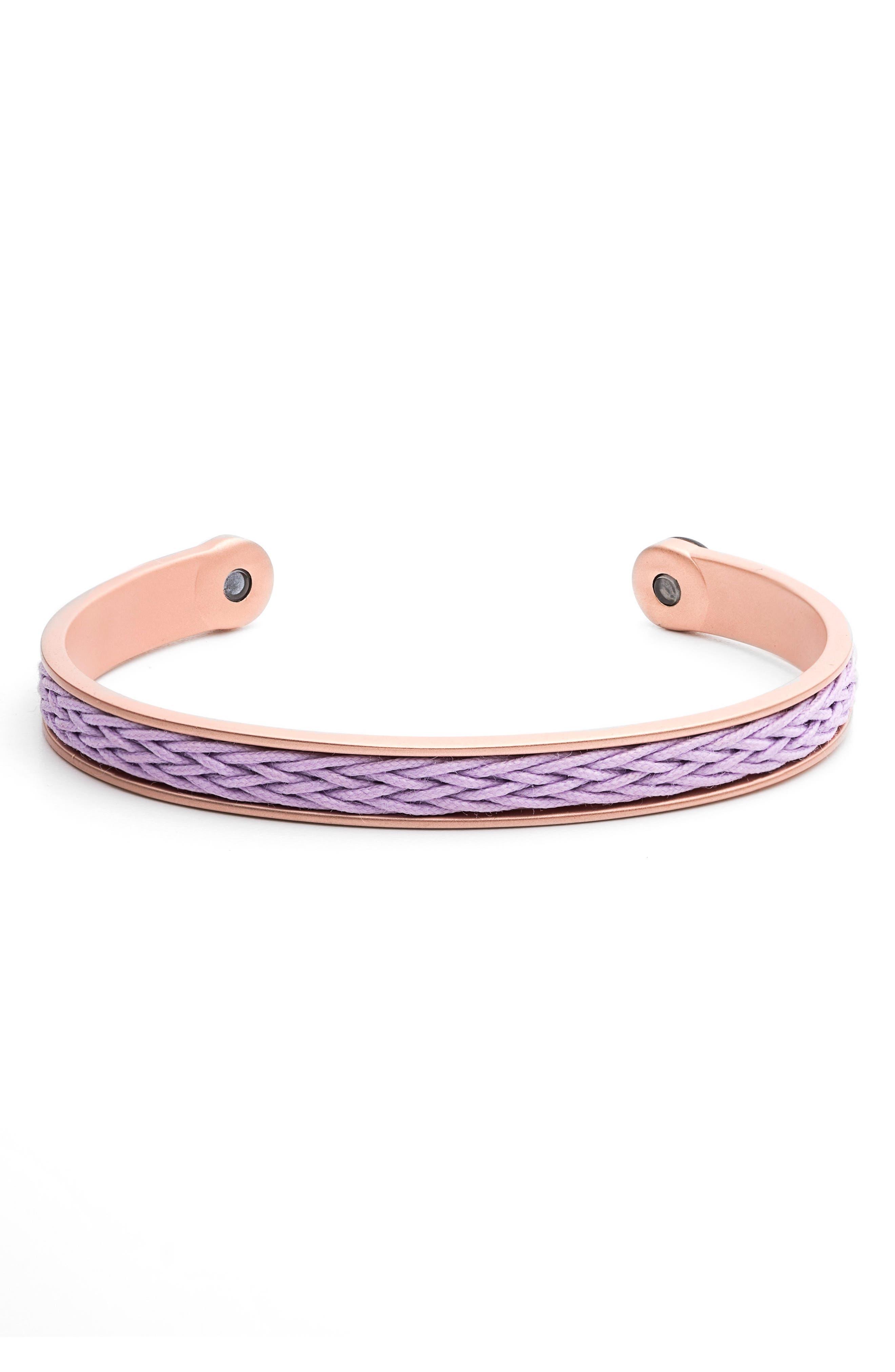 Braided Cuff Bracelet,                             Main thumbnail 3, color,