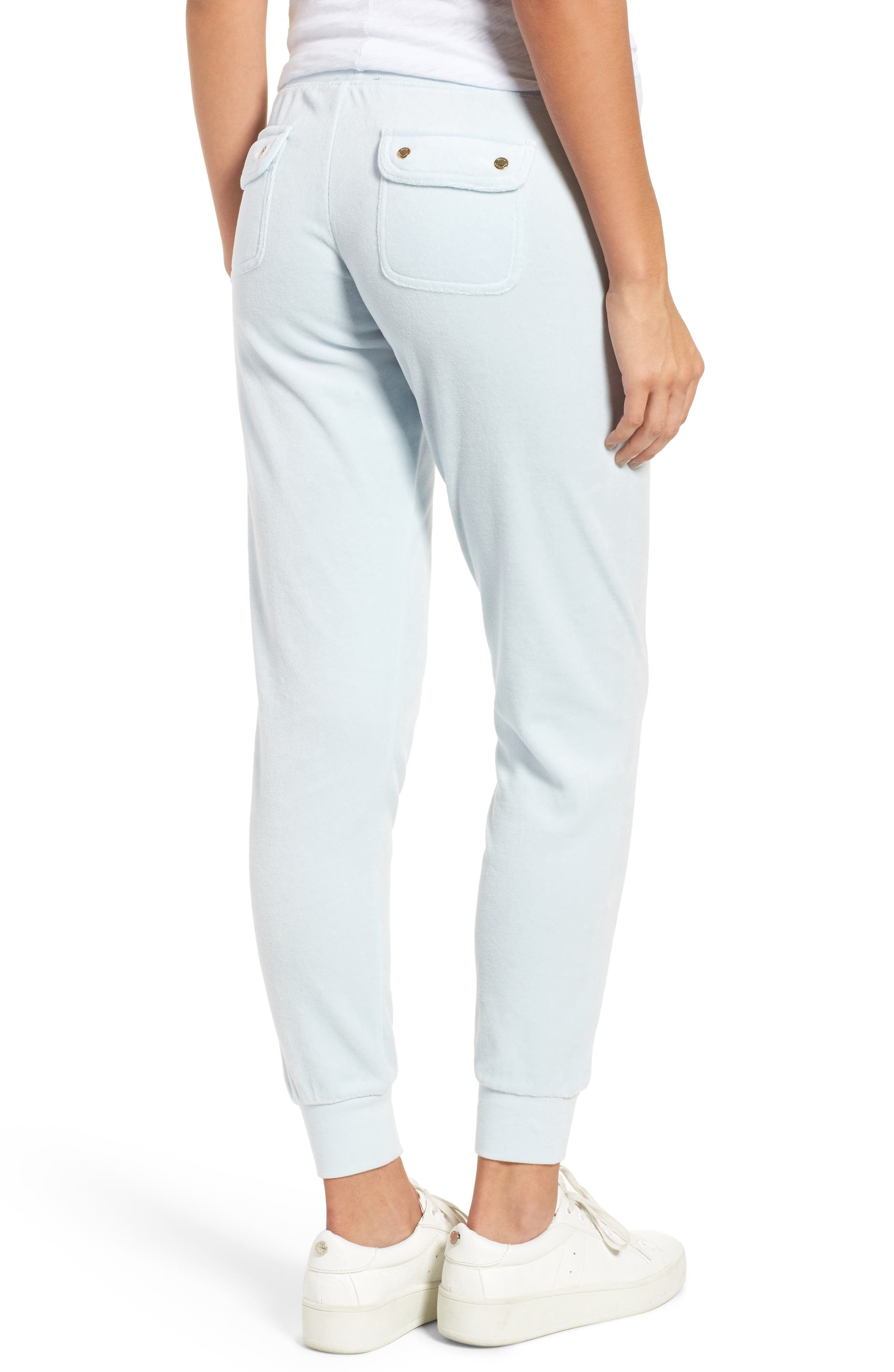 Zuma Microterry Track Pants,                             Alternate thumbnail 9, color,