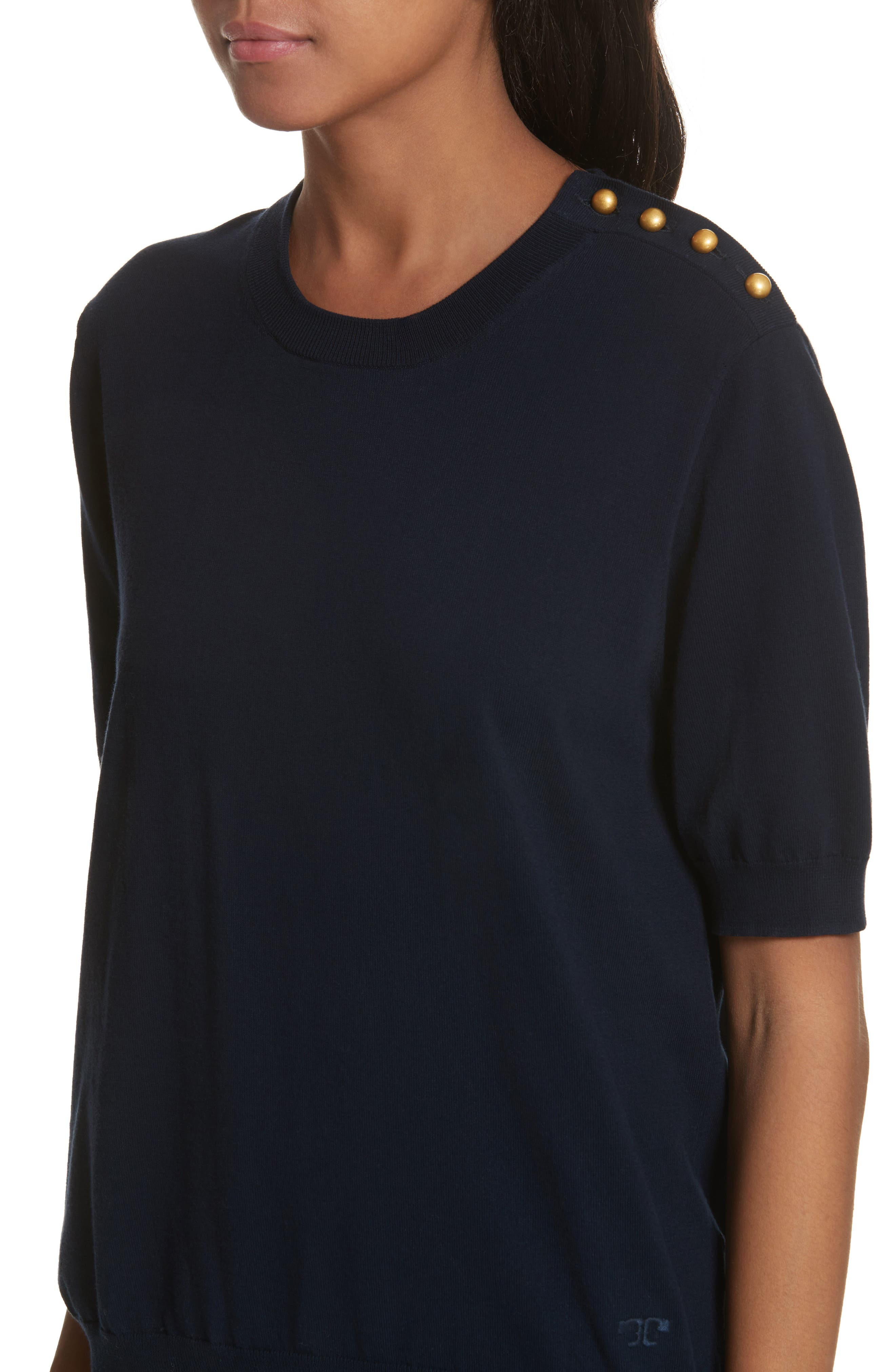 Preston Cotton Sweater,                             Alternate thumbnail 8, color,