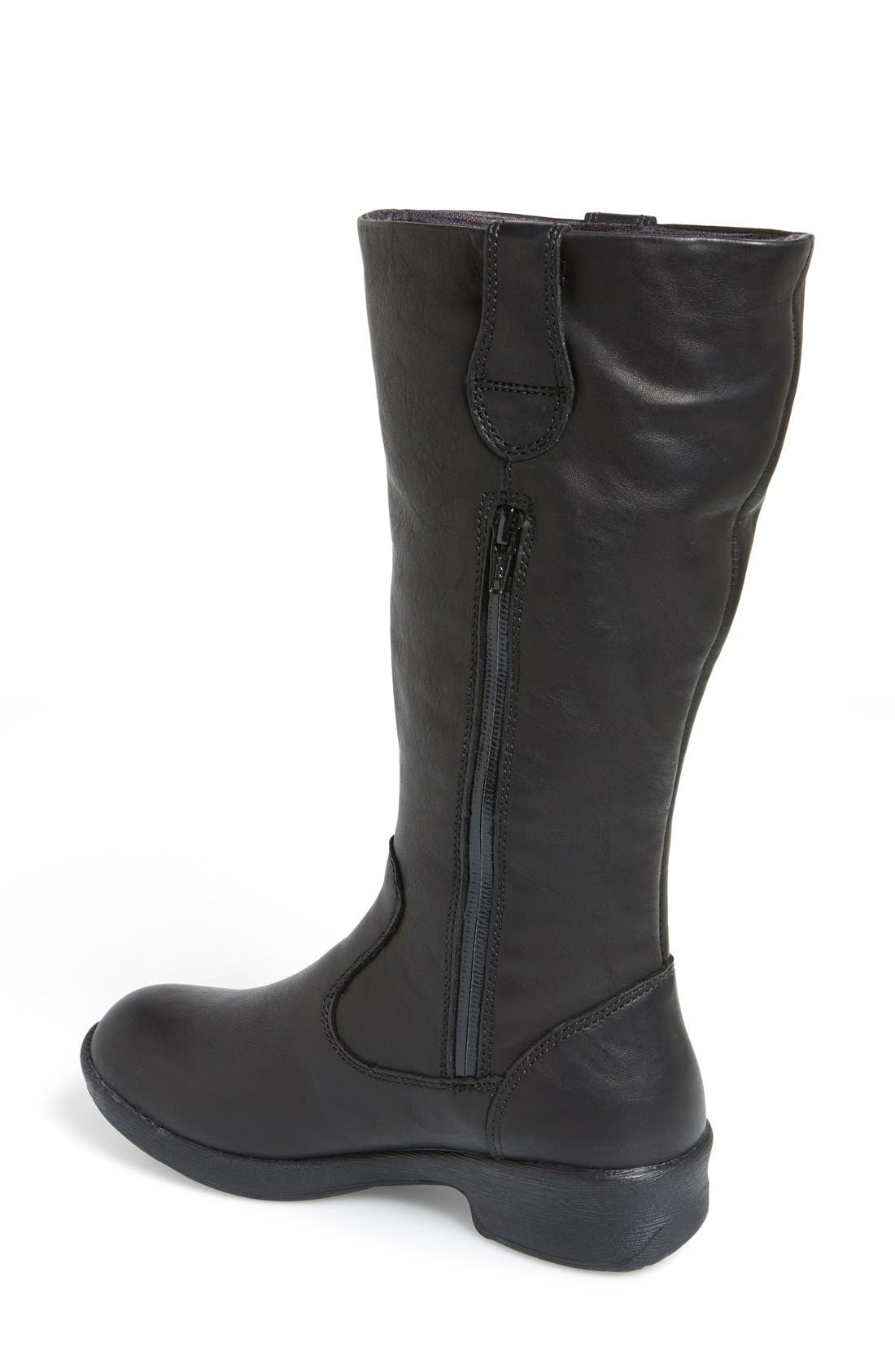 KEEN,                             'Tyretread' Waterproof Riding Boot,                             Alternate thumbnail 2, color,                             001