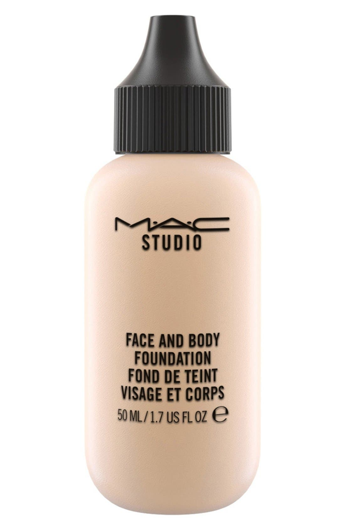 MAC M·A·C Studio Face and Body Foundation,                             Main thumbnail 1, color,                             C1