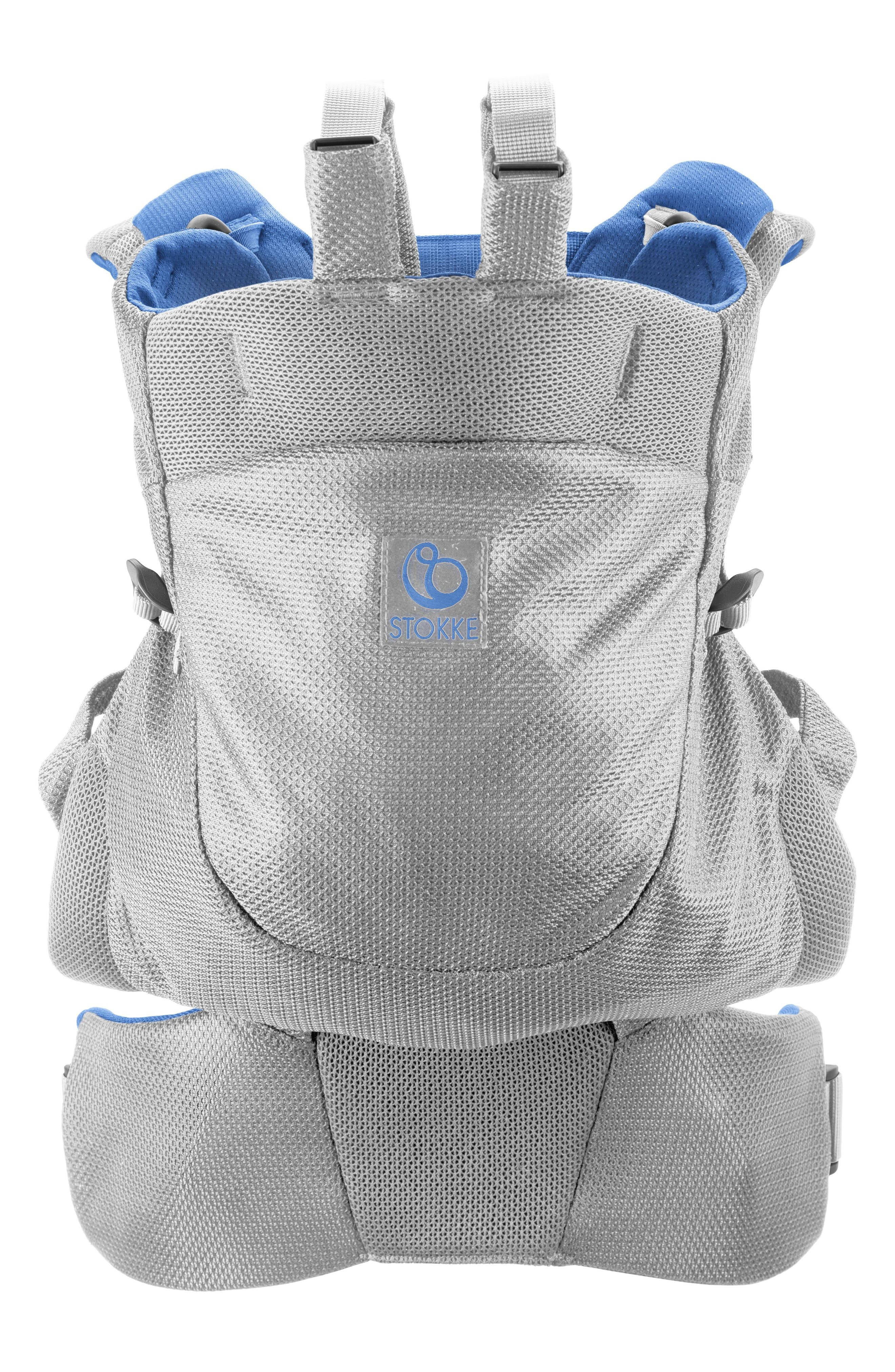 Infant Stokke Mycarrier Frontback Baby Carrier Size One Size  Blue