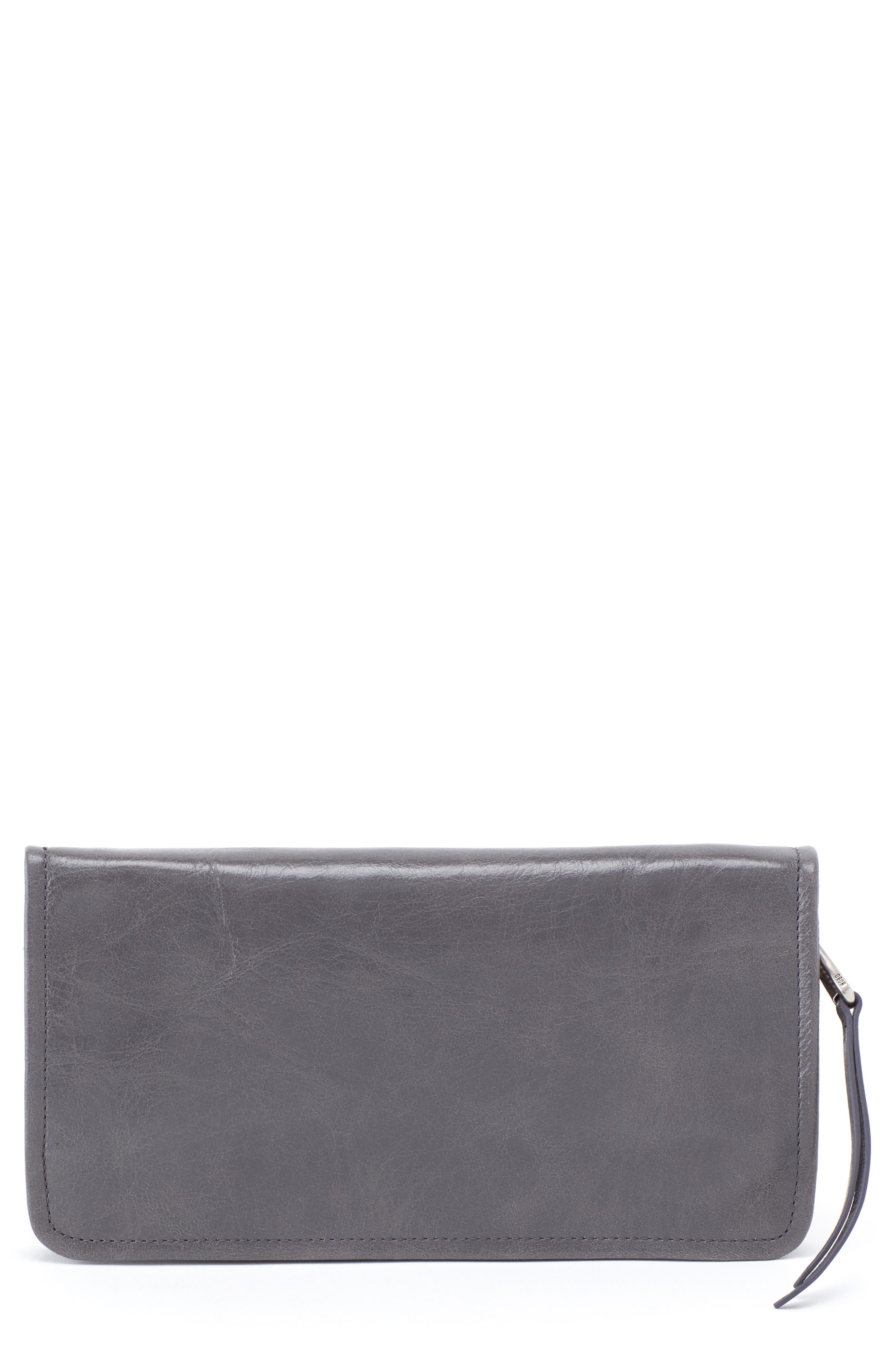 Remi Zip-Around Wallet,                         Main,                         color, GRAPHITE