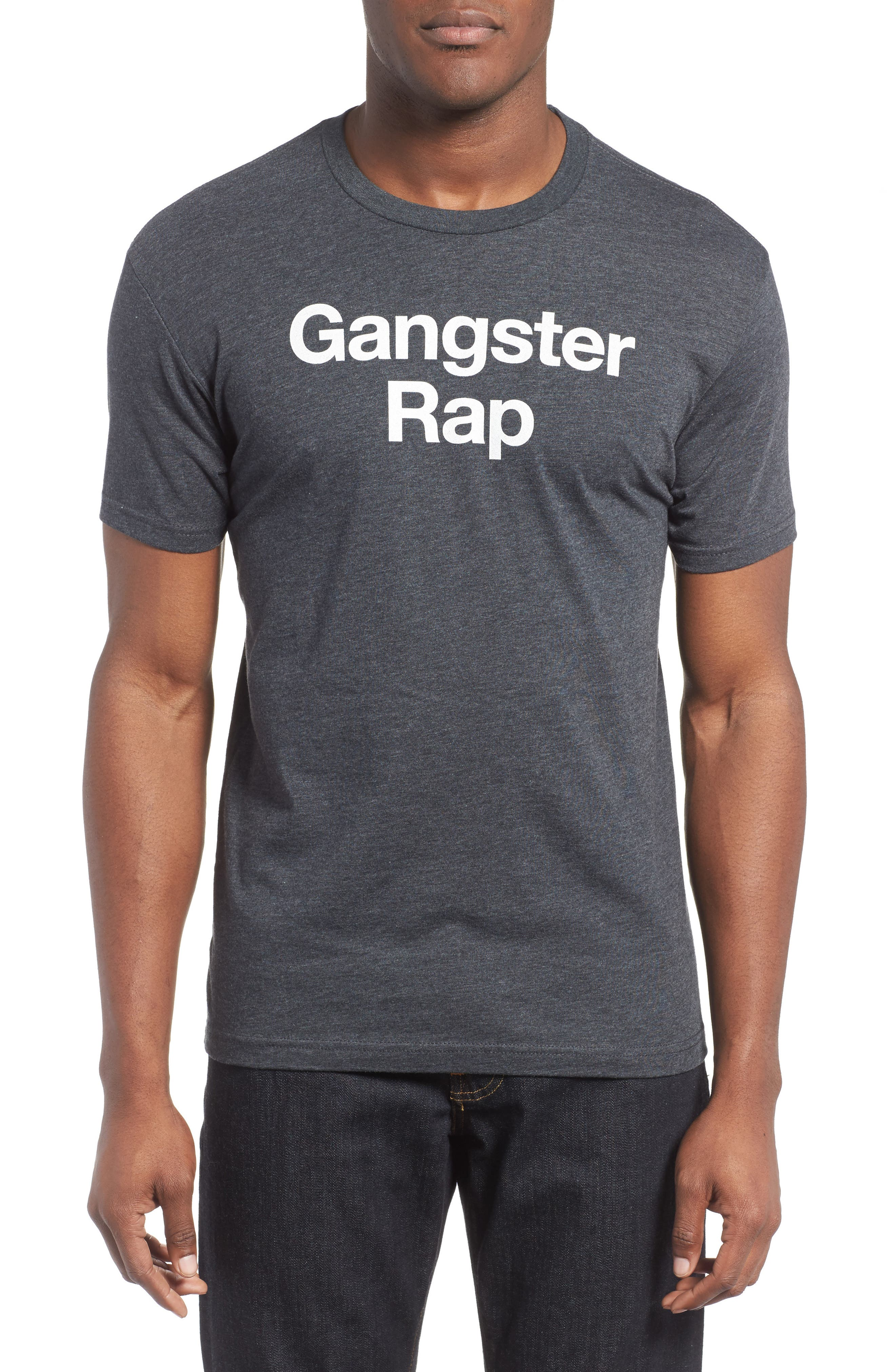 KID DANGEROUS,                             Gangster Rap Graphic T-Shirt,                             Main thumbnail 1, color,                             010