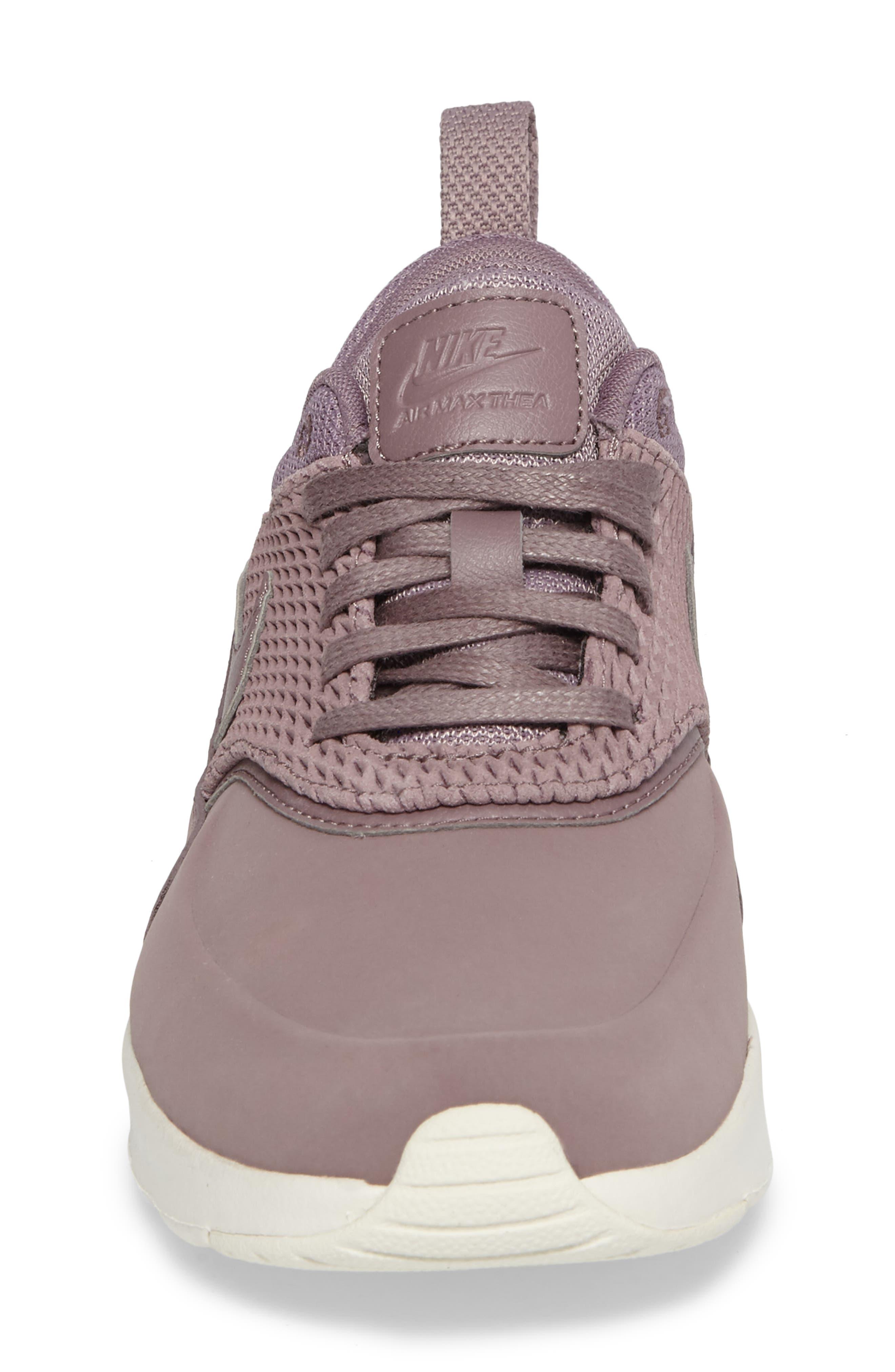 Air Max Thea Premium Sneaker,                             Alternate thumbnail 4, color,                             025