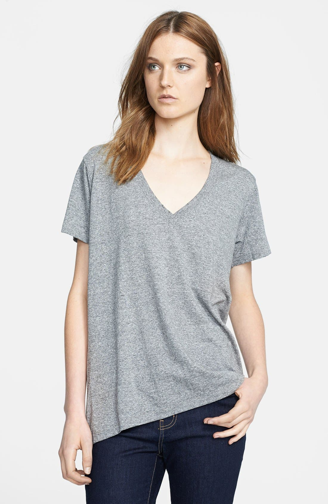 'The V-Neck' Tee,                             Main thumbnail 1, color,                             099