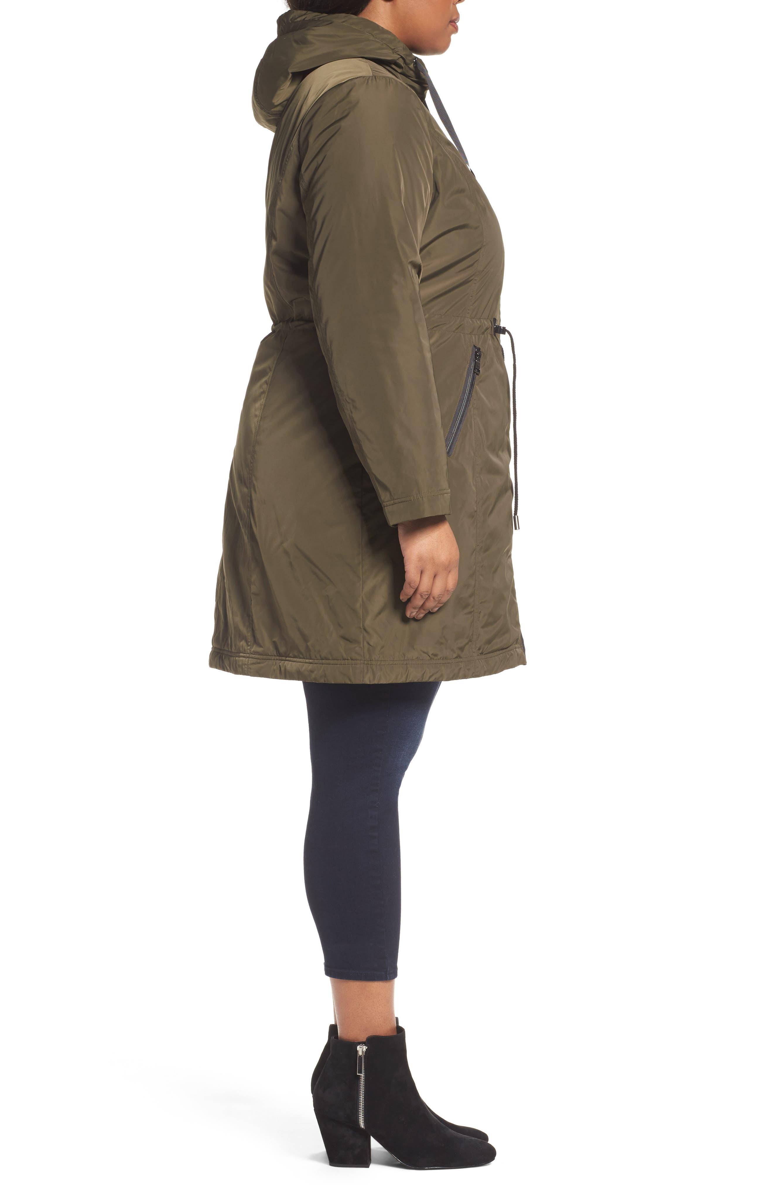 Tiffany Raincoat,                             Alternate thumbnail 8, color,