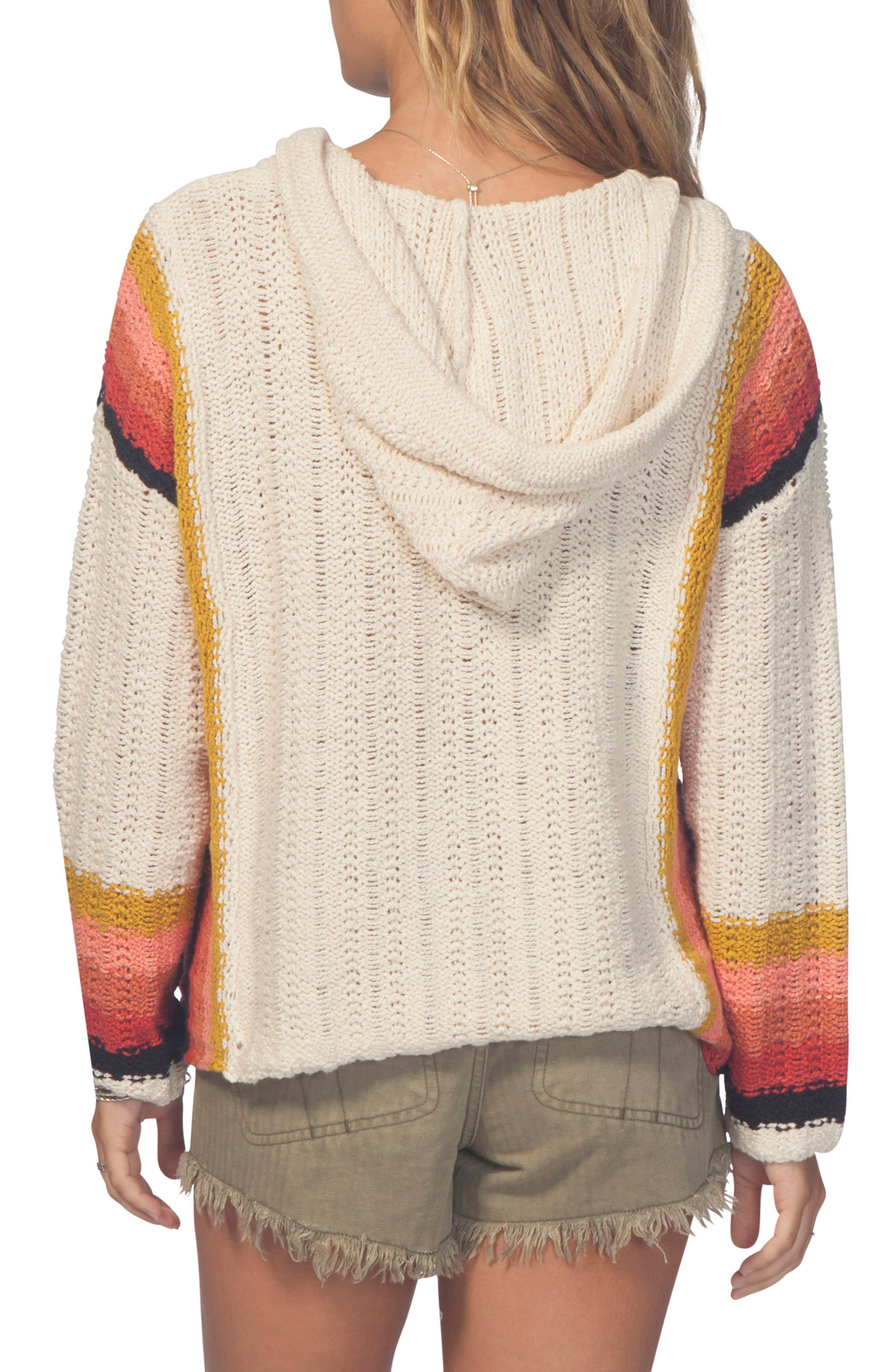 Dreamscape Poncho Sweater,                             Alternate thumbnail 2, color,