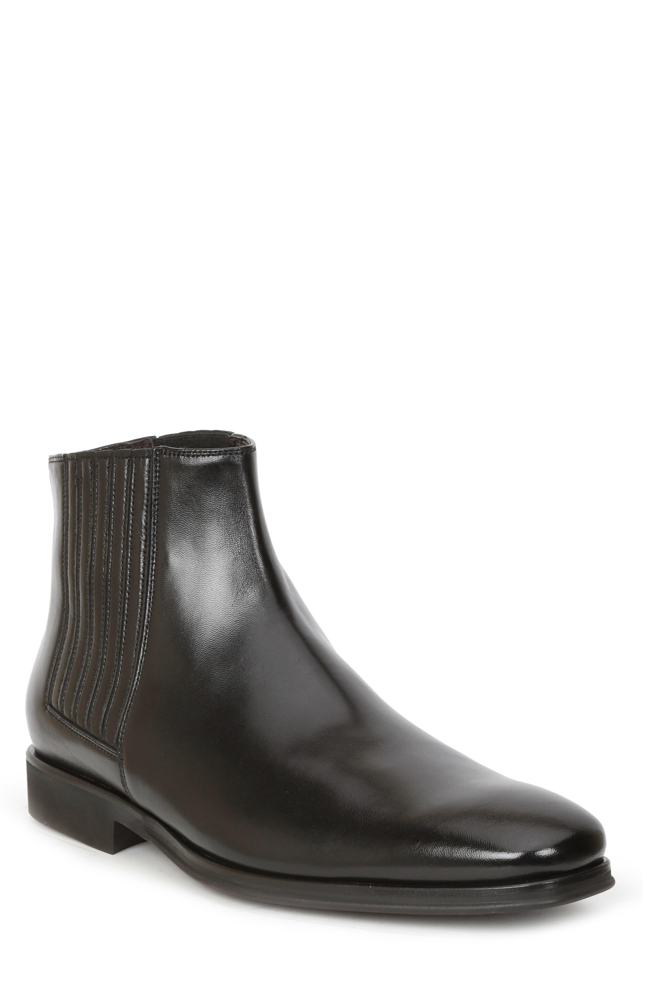 Rezzo Chelsea Boot,                             Main thumbnail 1, color,                             BLACK