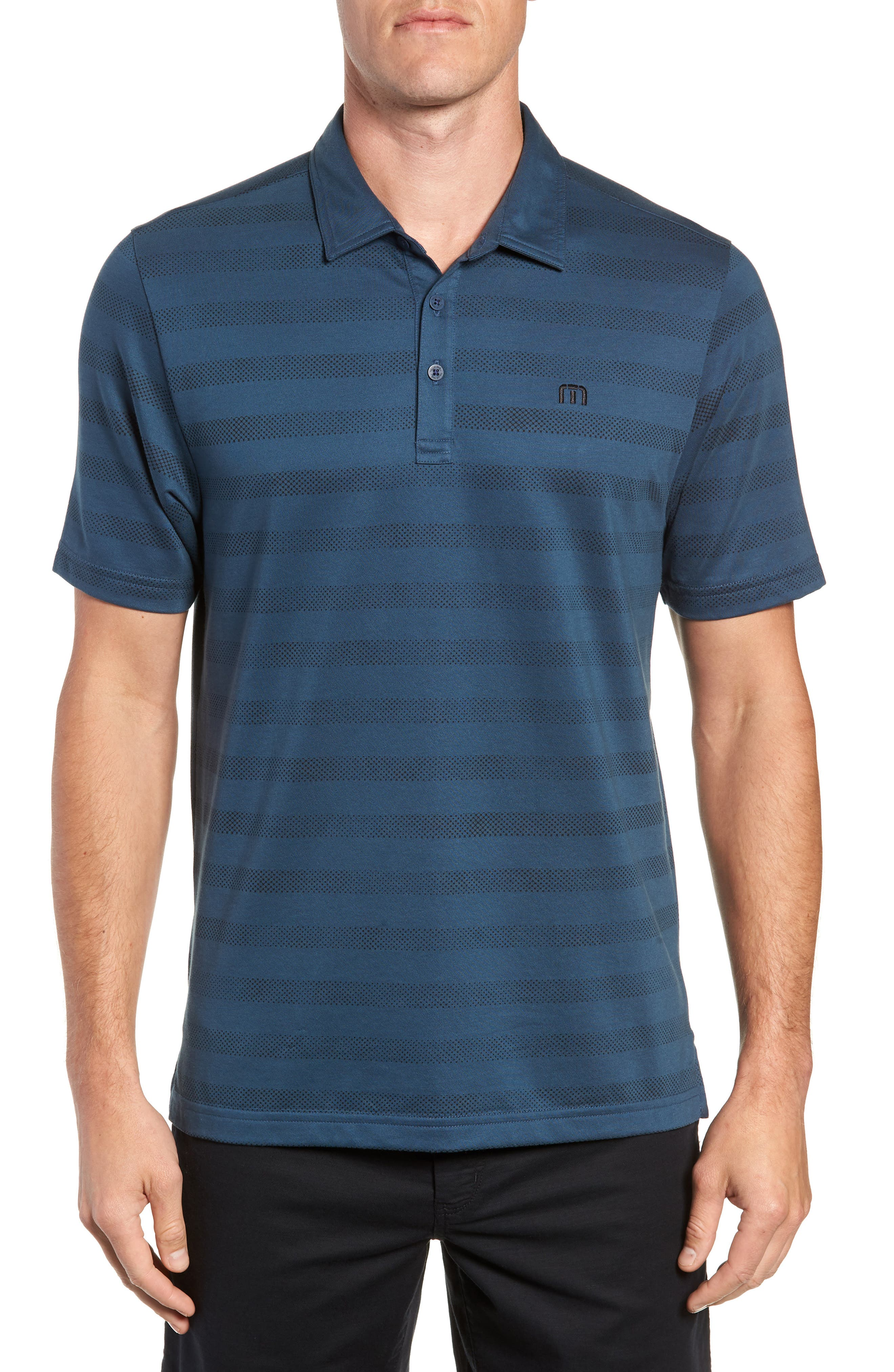 Dolphinantly Regular Fit Polo,                             Main thumbnail 1, color,                             BLUE WING TEAL