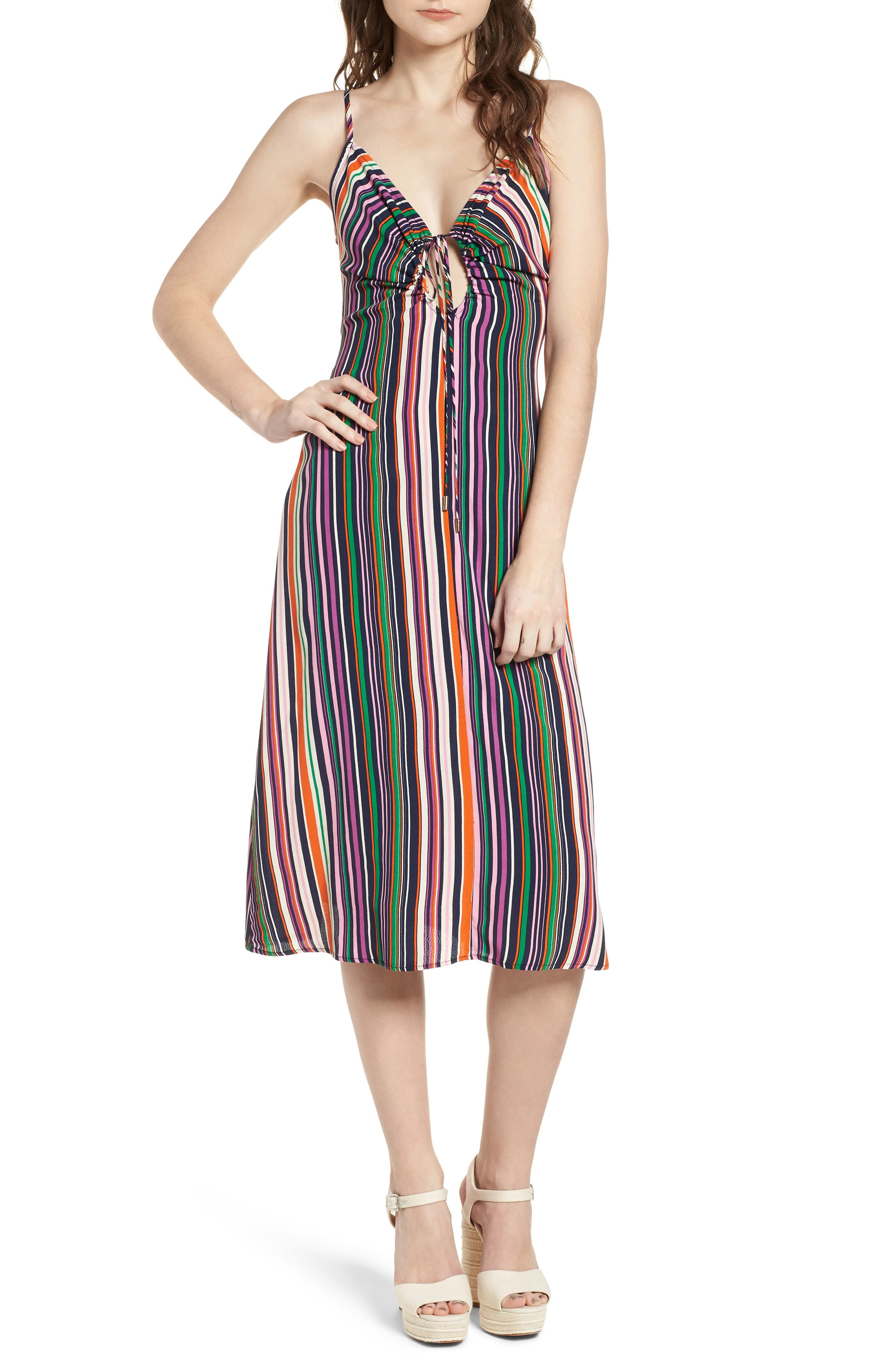 Cora Midi Dress,                             Main thumbnail 2, color,