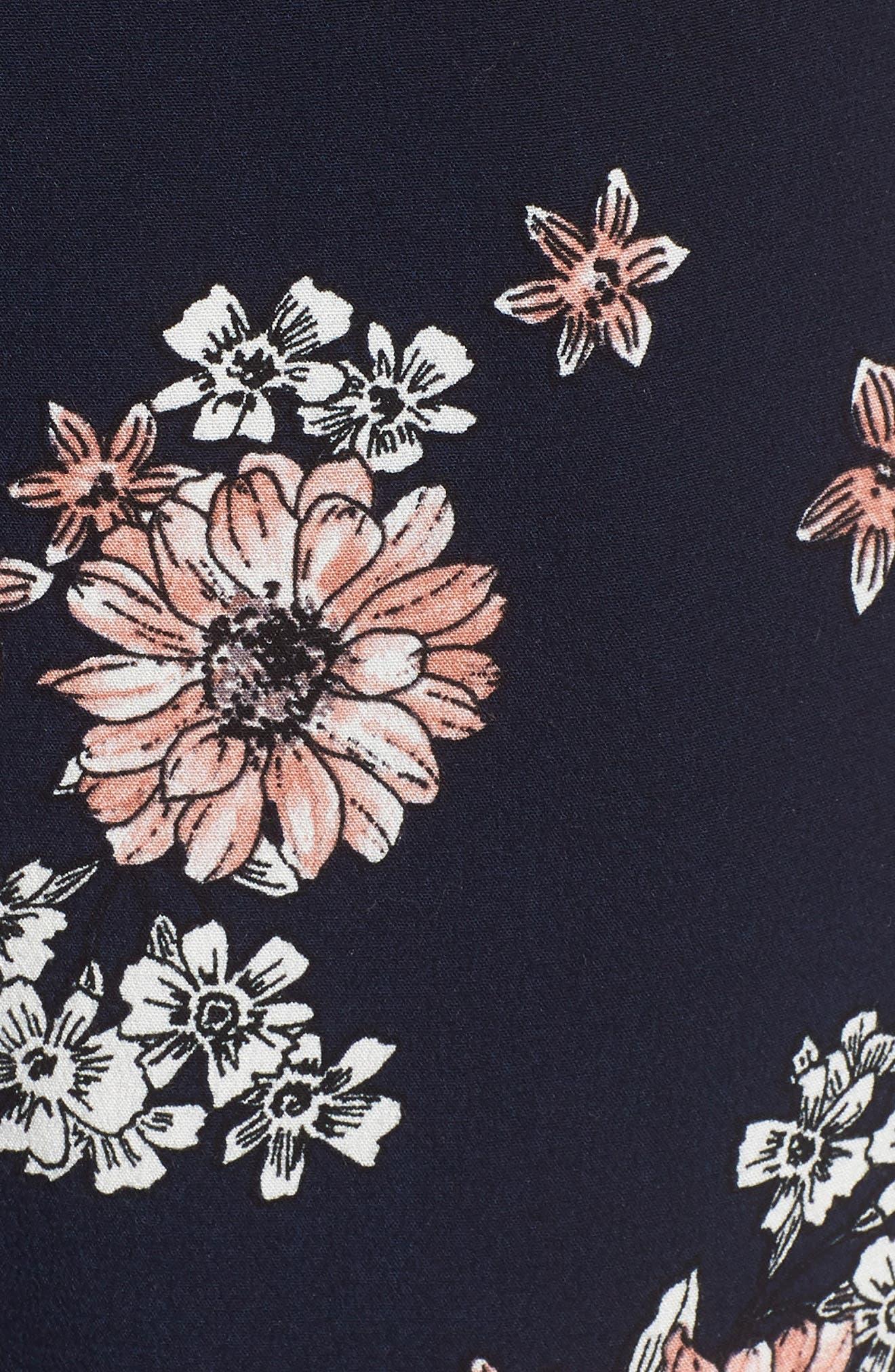 Lili Floral Jumpsuit,                             Alternate thumbnail 5, color,                             401
