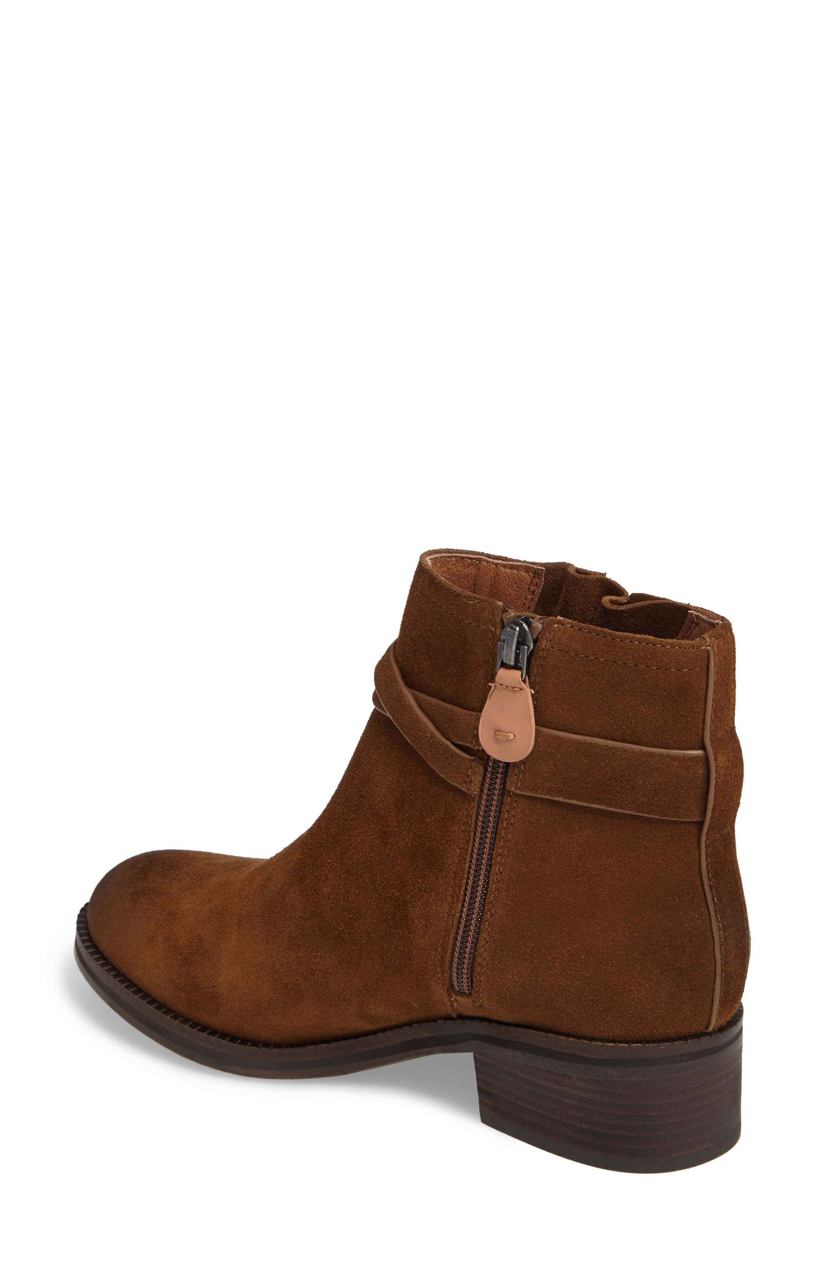 by Kenneth Cole Percy Bootie,                             Alternate thumbnail 2, color,                             WALNUT SUEDE