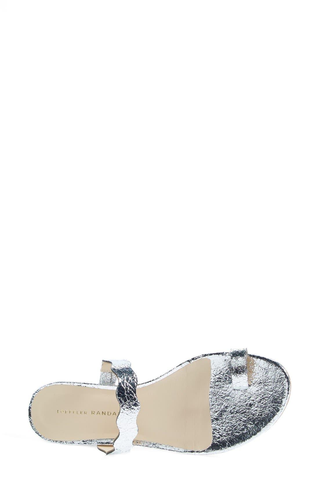 'Petal' Slide Sandal,                             Alternate thumbnail 4, color,                             040