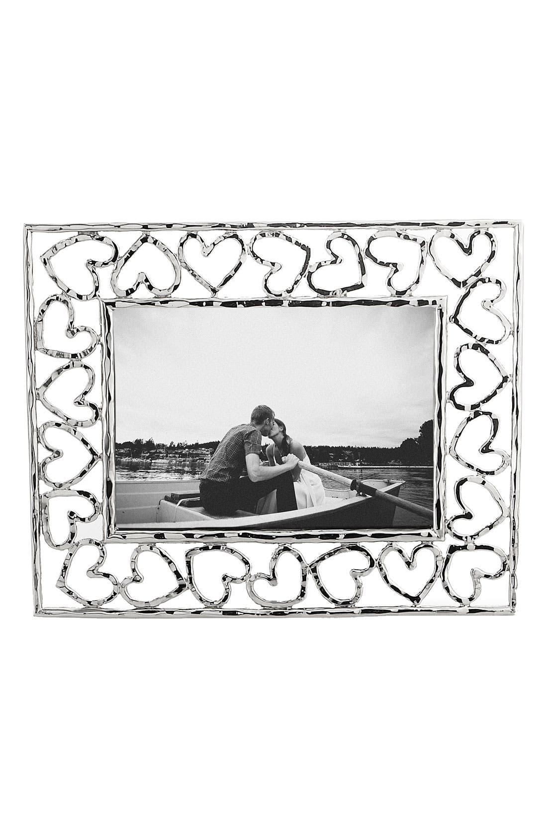 Heart Picture Frame,                             Main thumbnail 1, color,                             000