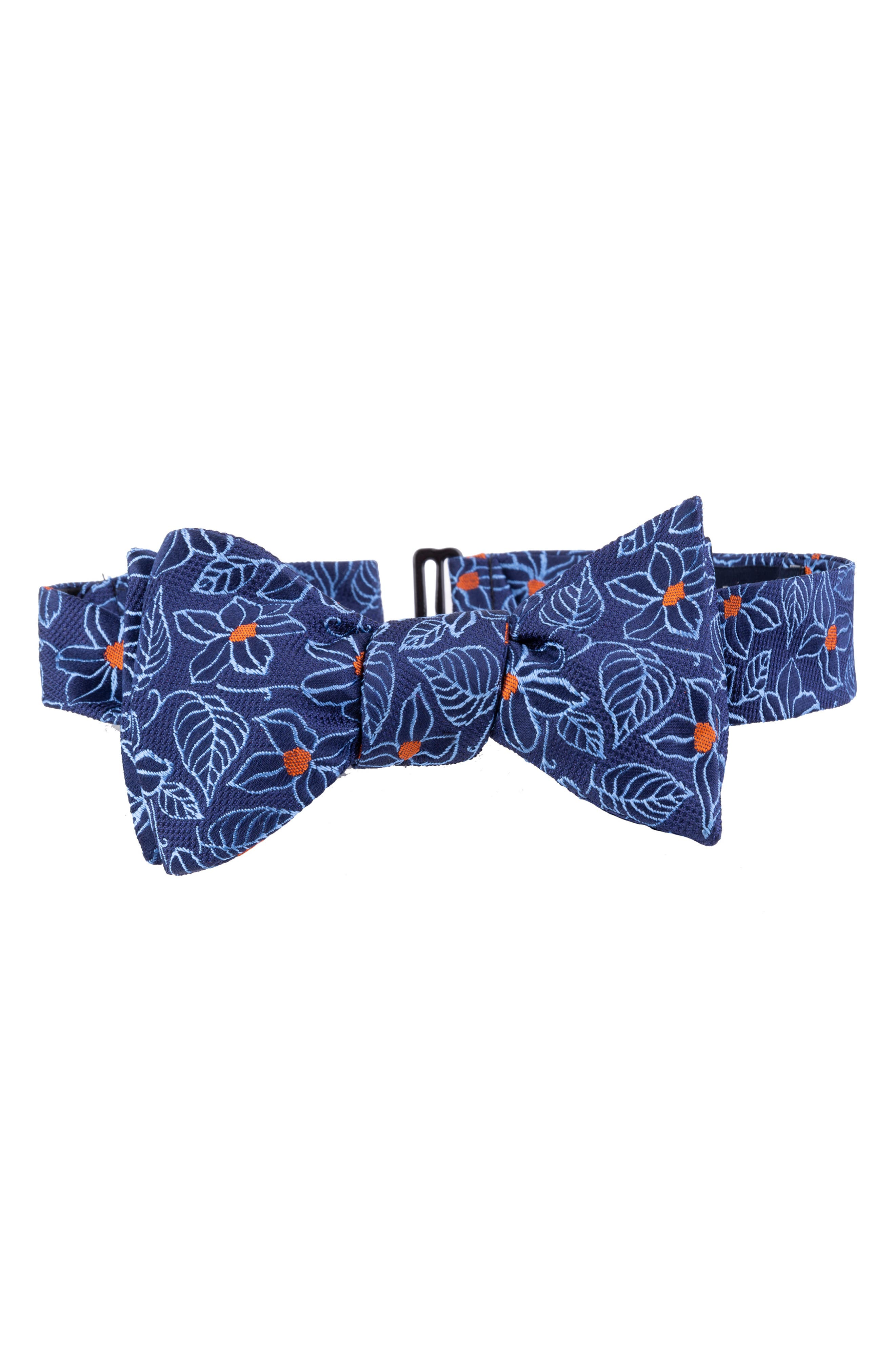 Edwardian Men's Fashion & Clothing Mens Ted Baker London Flower Silk Bow Tie $59.50 AT vintagedancer.com