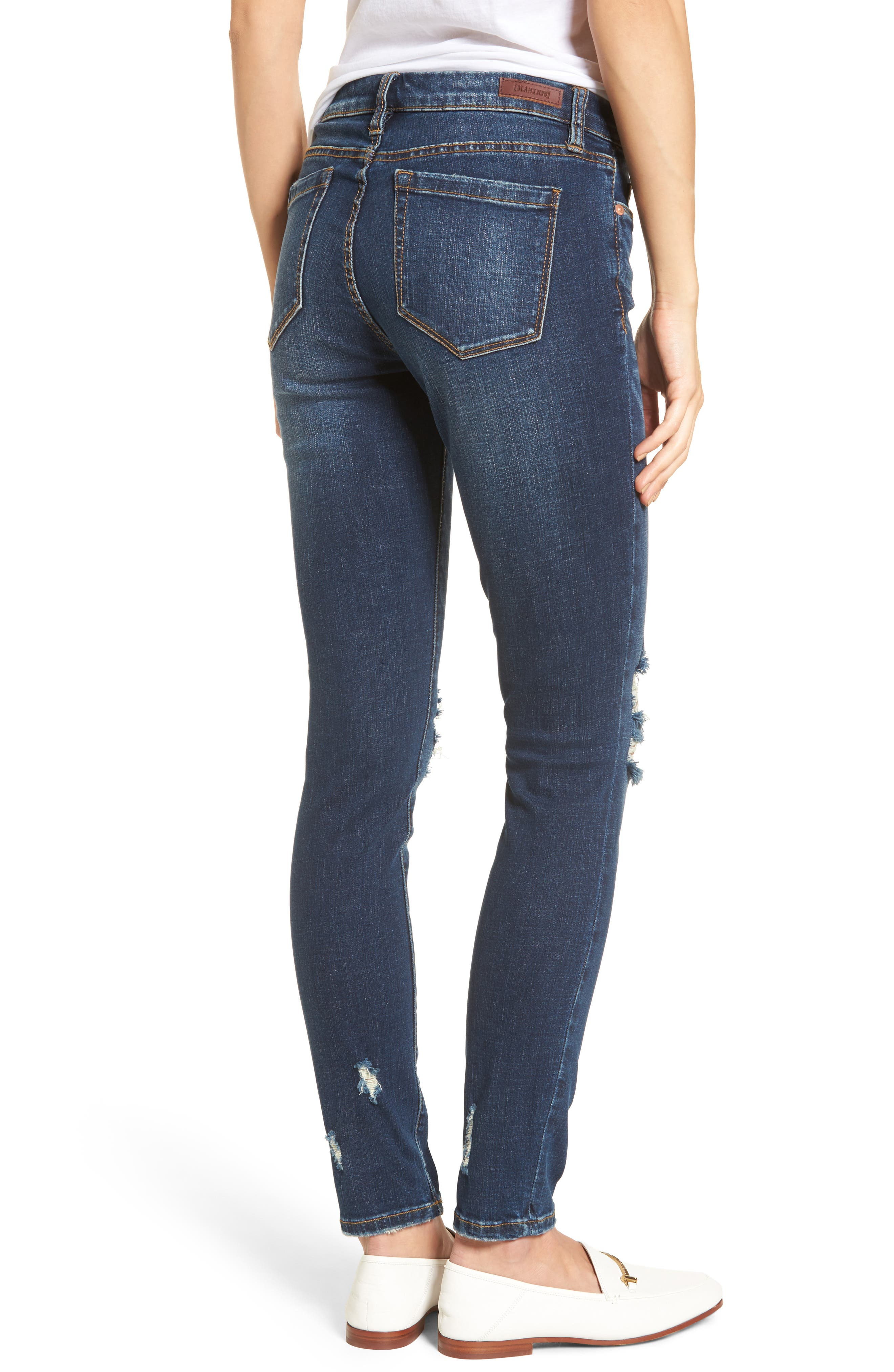 Decon Cult Classic Skinny Jeans,                             Alternate thumbnail 2, color,                             400