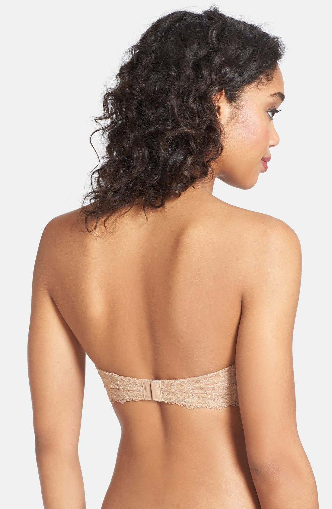 'B Delighted' Convertible Underwire Contour Bra,                             Alternate thumbnail 10, color,                             PRALINE