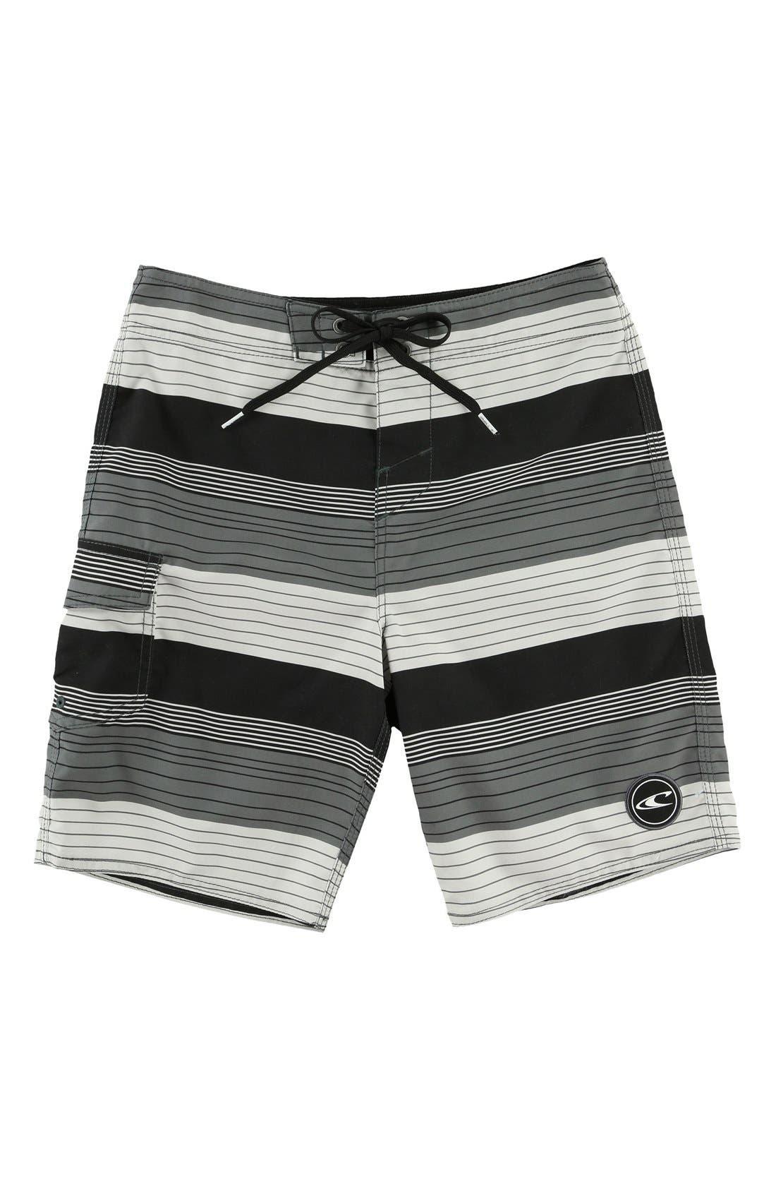 Santa Cruz Stripe Board Shorts,                         Main,                         color, 001