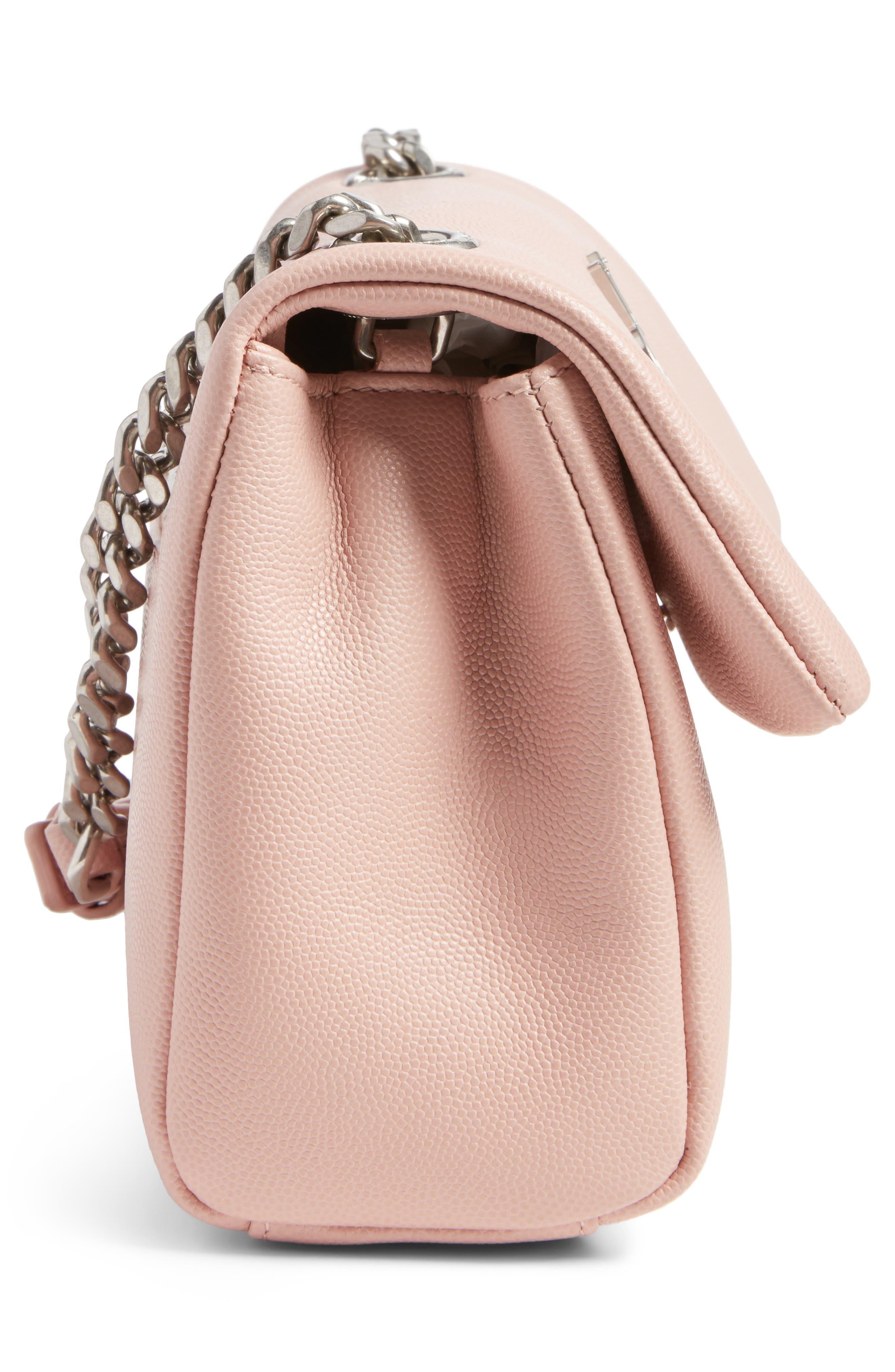 West Hollywood Calfskin Leather Messenger Bag,                             Alternate thumbnail 18, color,