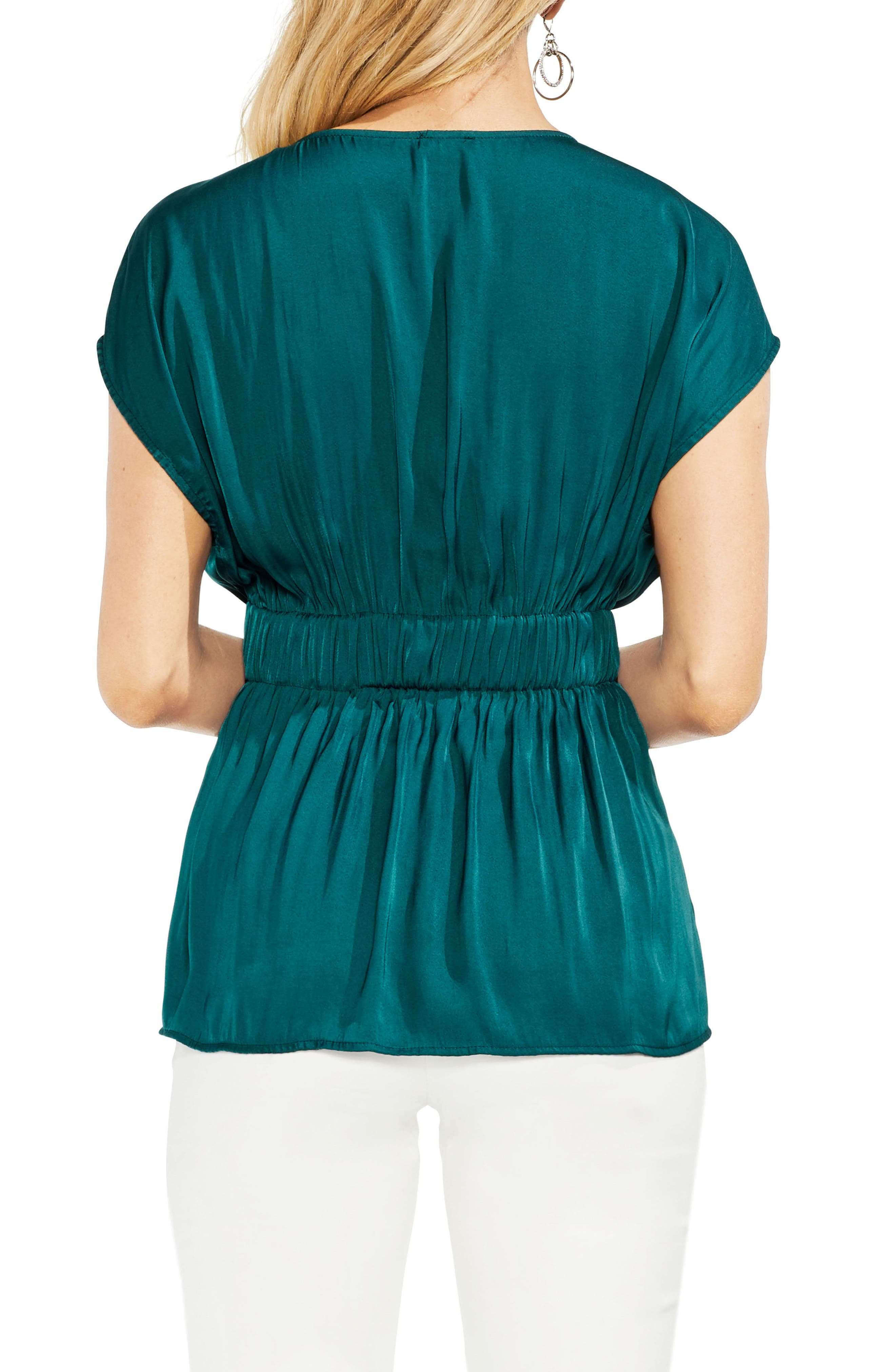 Cinched Waist Top,                             Alternate thumbnail 4, color,