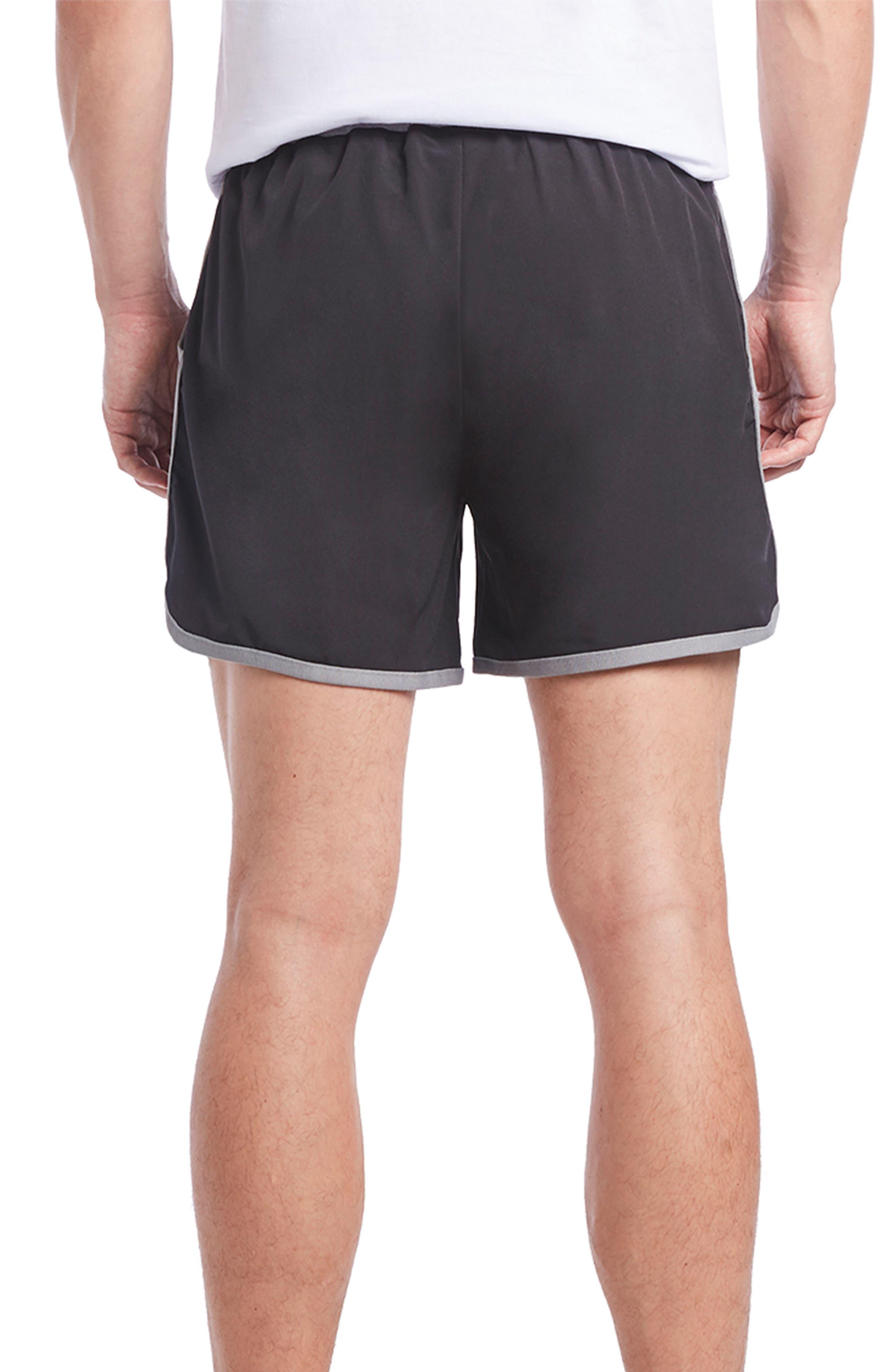 Performance Jogger Shorts,                             Alternate thumbnail 2, color,                             BLACK/ EARL GREY