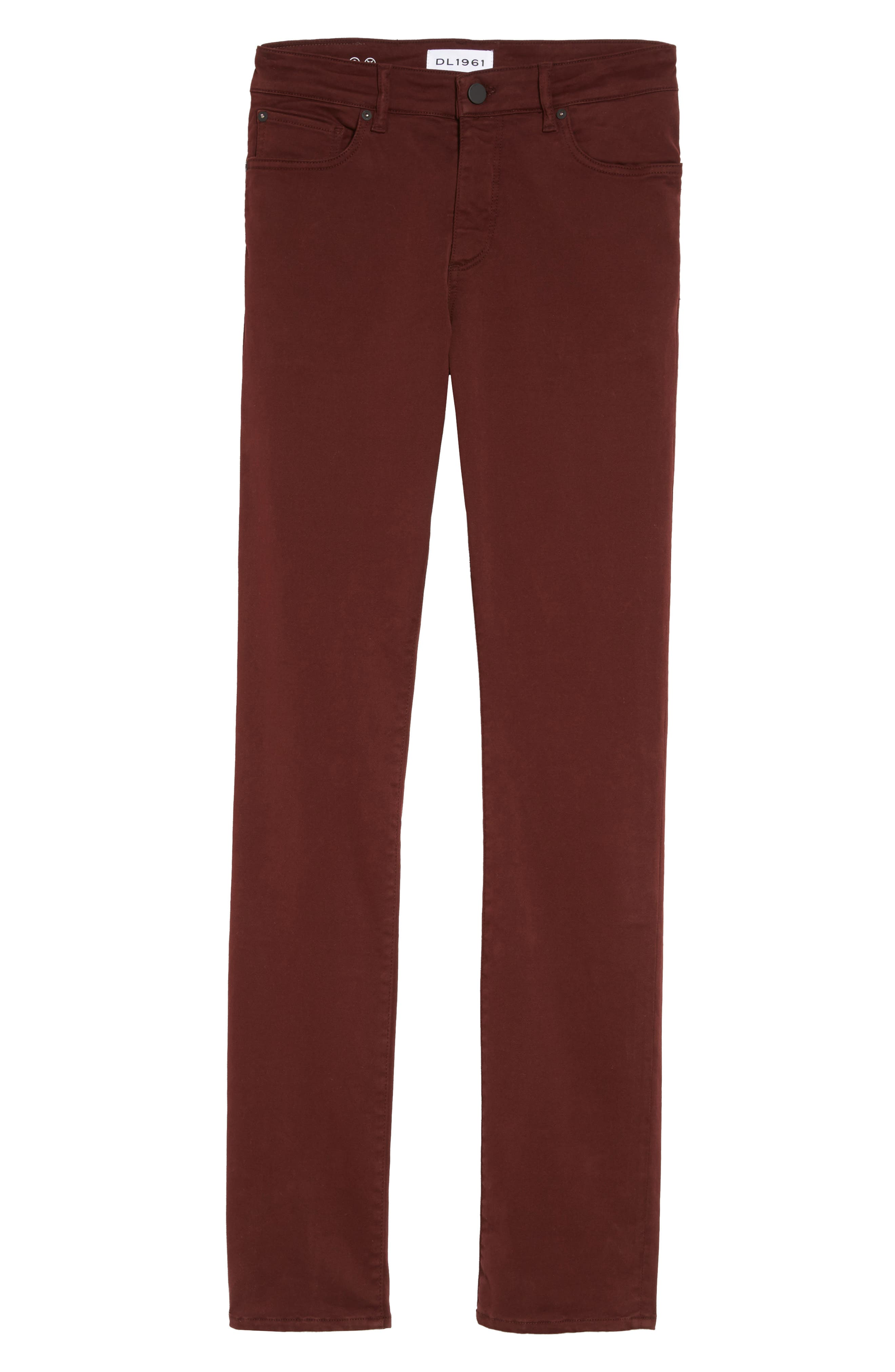 Russell Slim Fit Sateen Twill Pants,                             Alternate thumbnail 61, color,