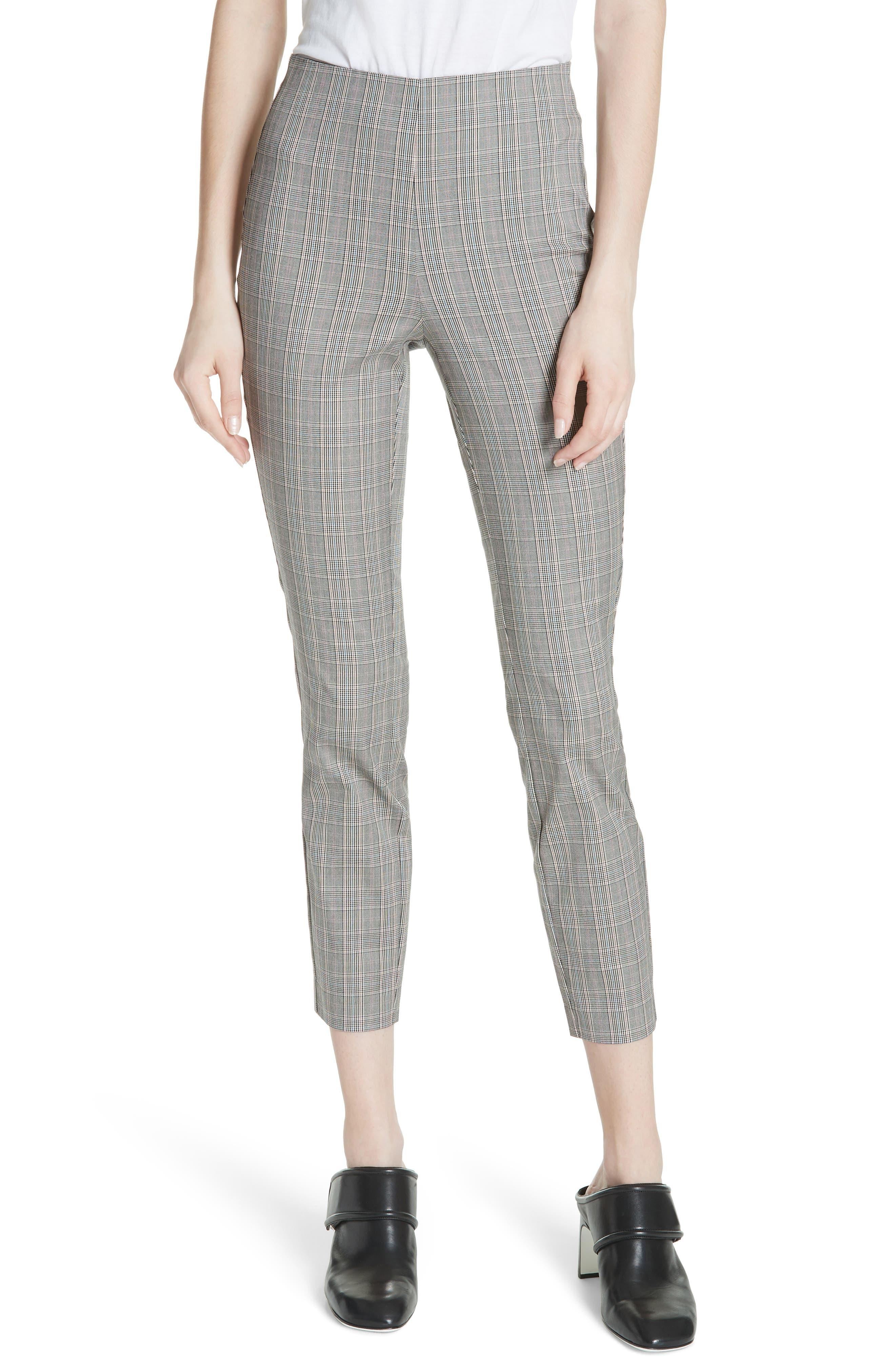 RAG & BONE Simone Glen Plaid Pants, Main, color, 017