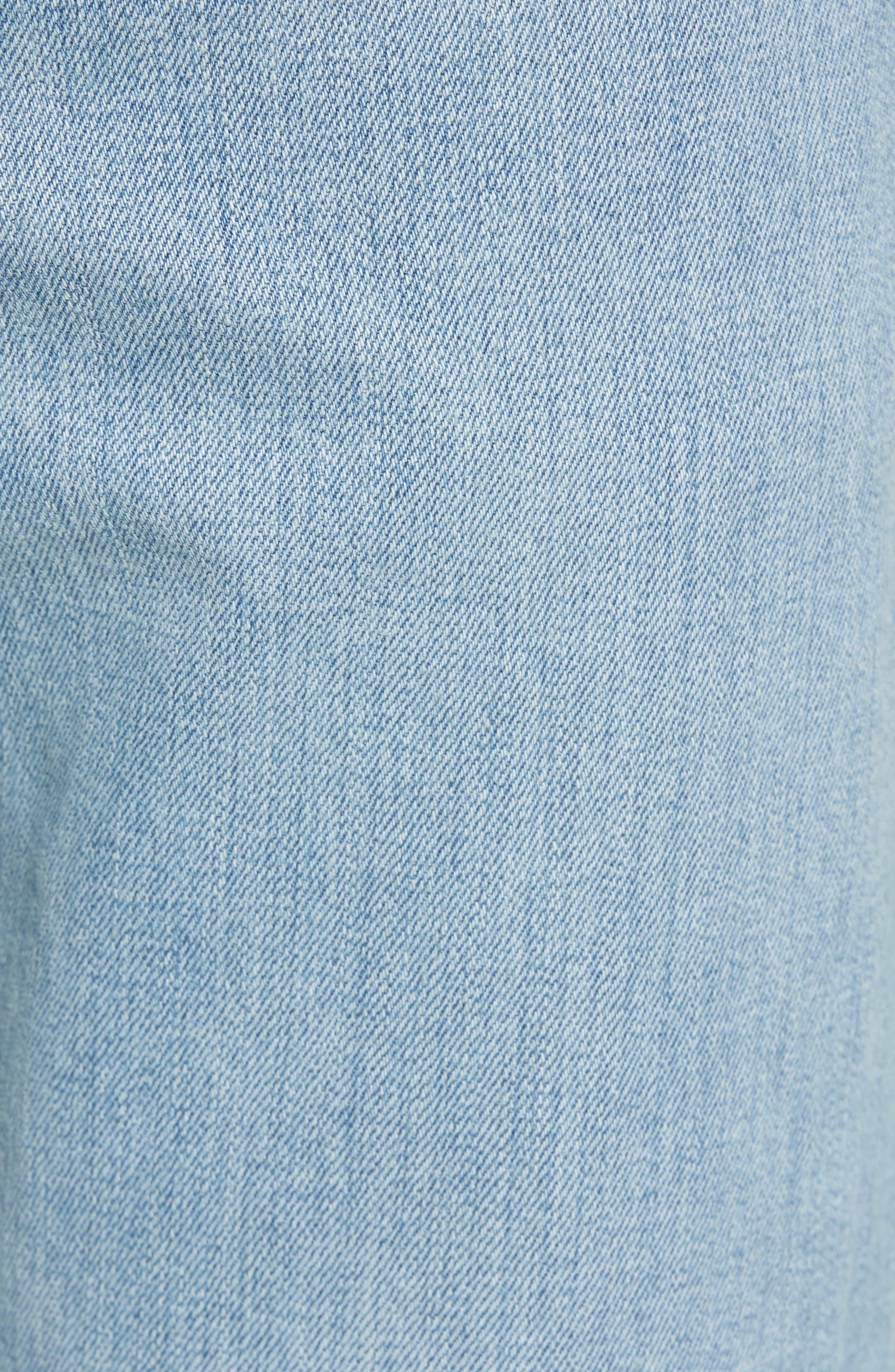 Fit 3 Slim Straight Leg Jeans,                             Alternate thumbnail 5, color,                             420