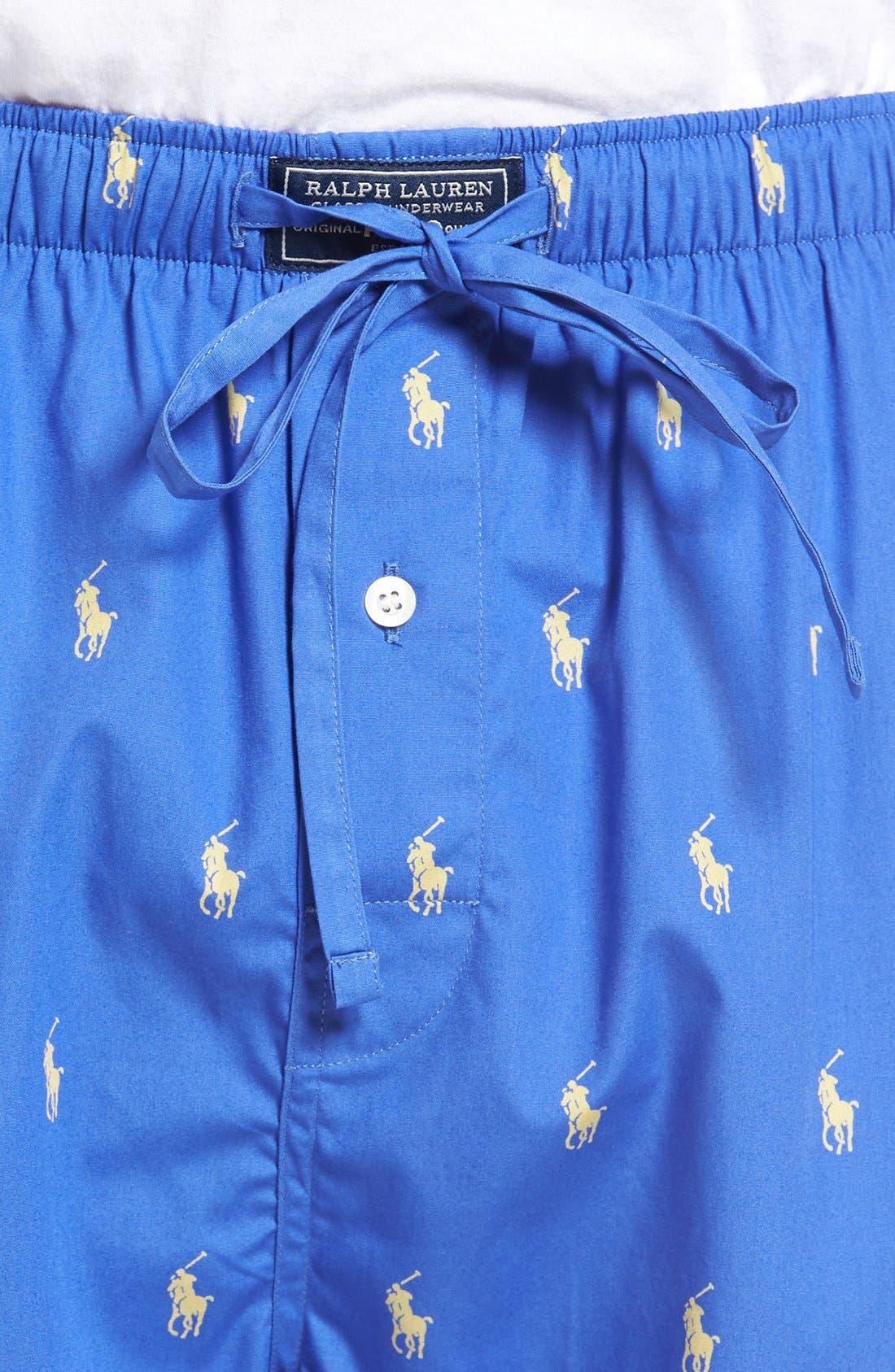 Cotton Lounge Pants,                             Alternate thumbnail 45, color,