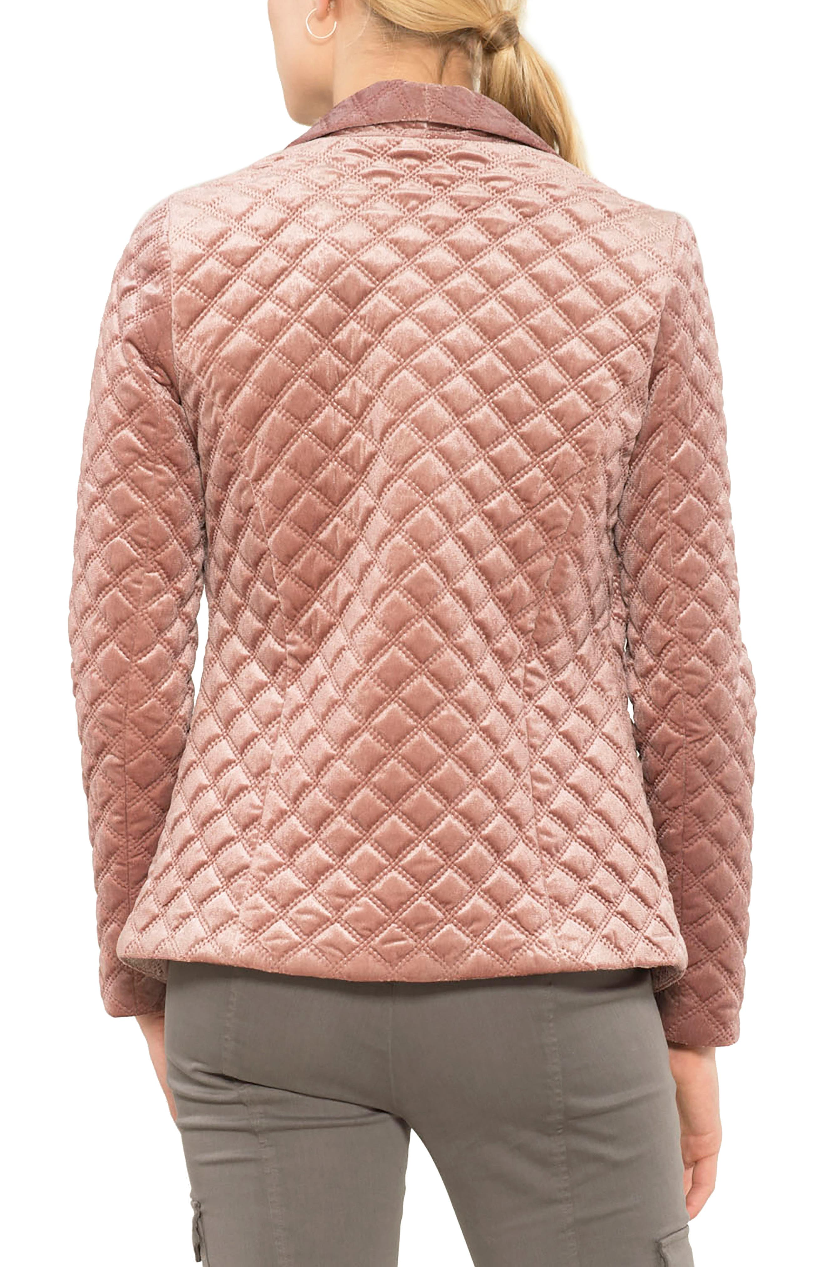 Quilted Blazer,                             Alternate thumbnail 4, color,