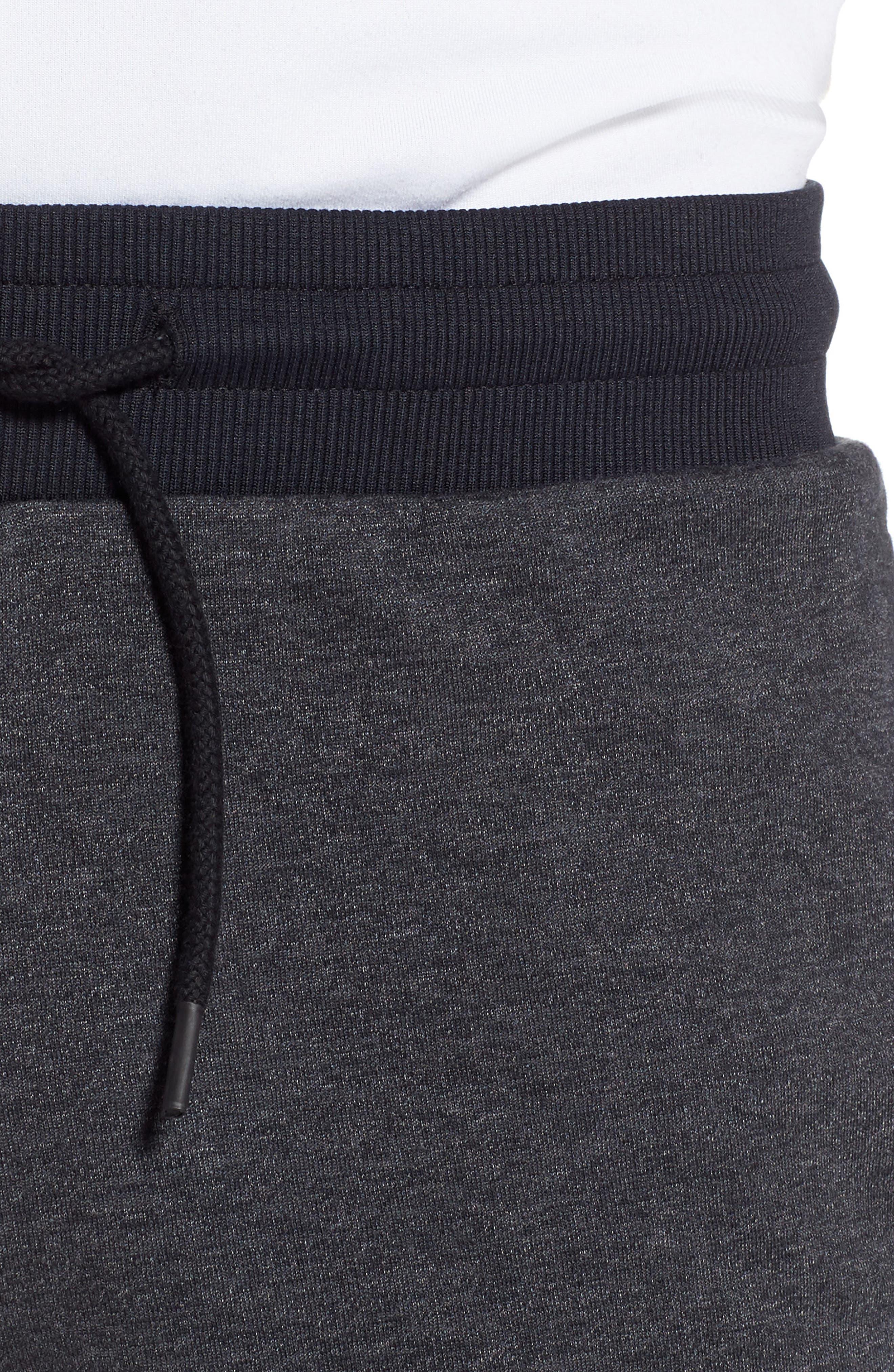 UNDER ARMOUR,                             Unstoppable Double Knit Jogger Pants,                             Alternate thumbnail 4, color,                             001
