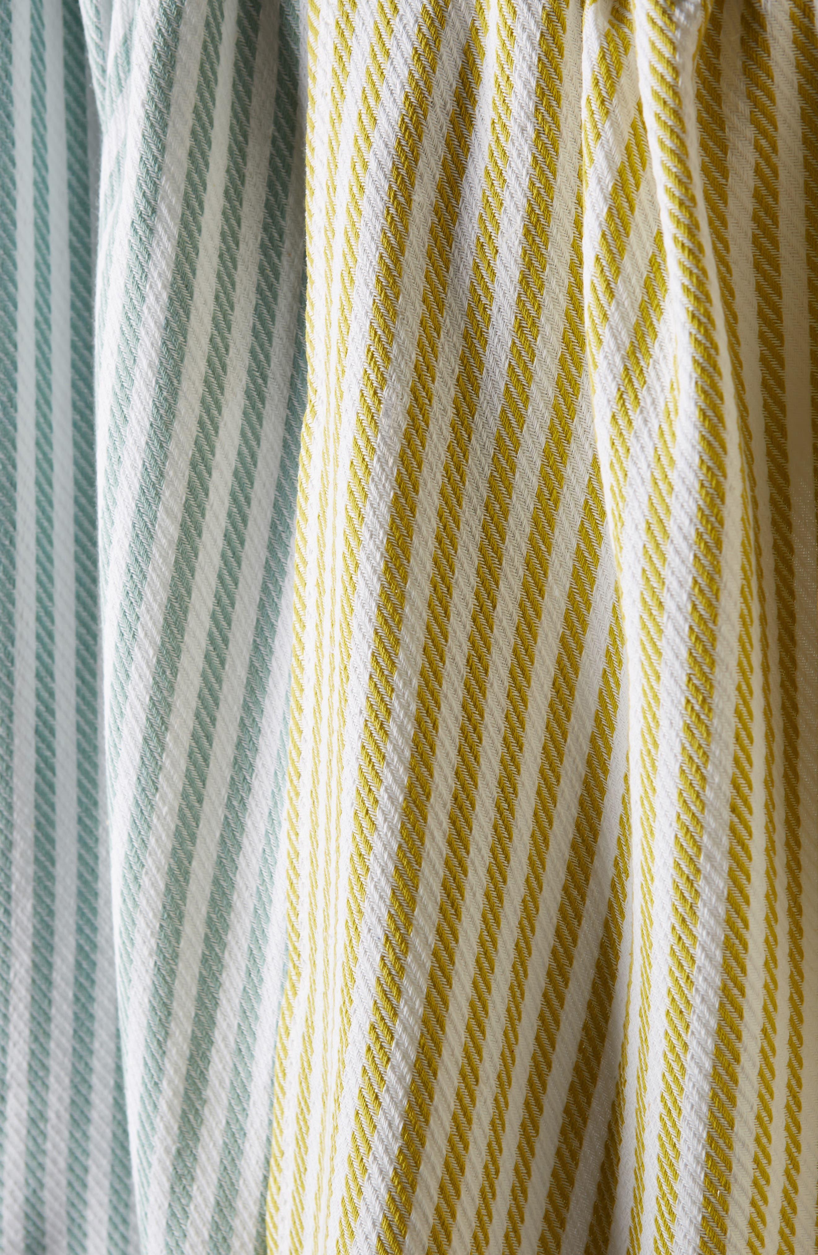 Baker Stripe Set of 4 Dishtowels,                             Alternate thumbnail 2, color,                             650