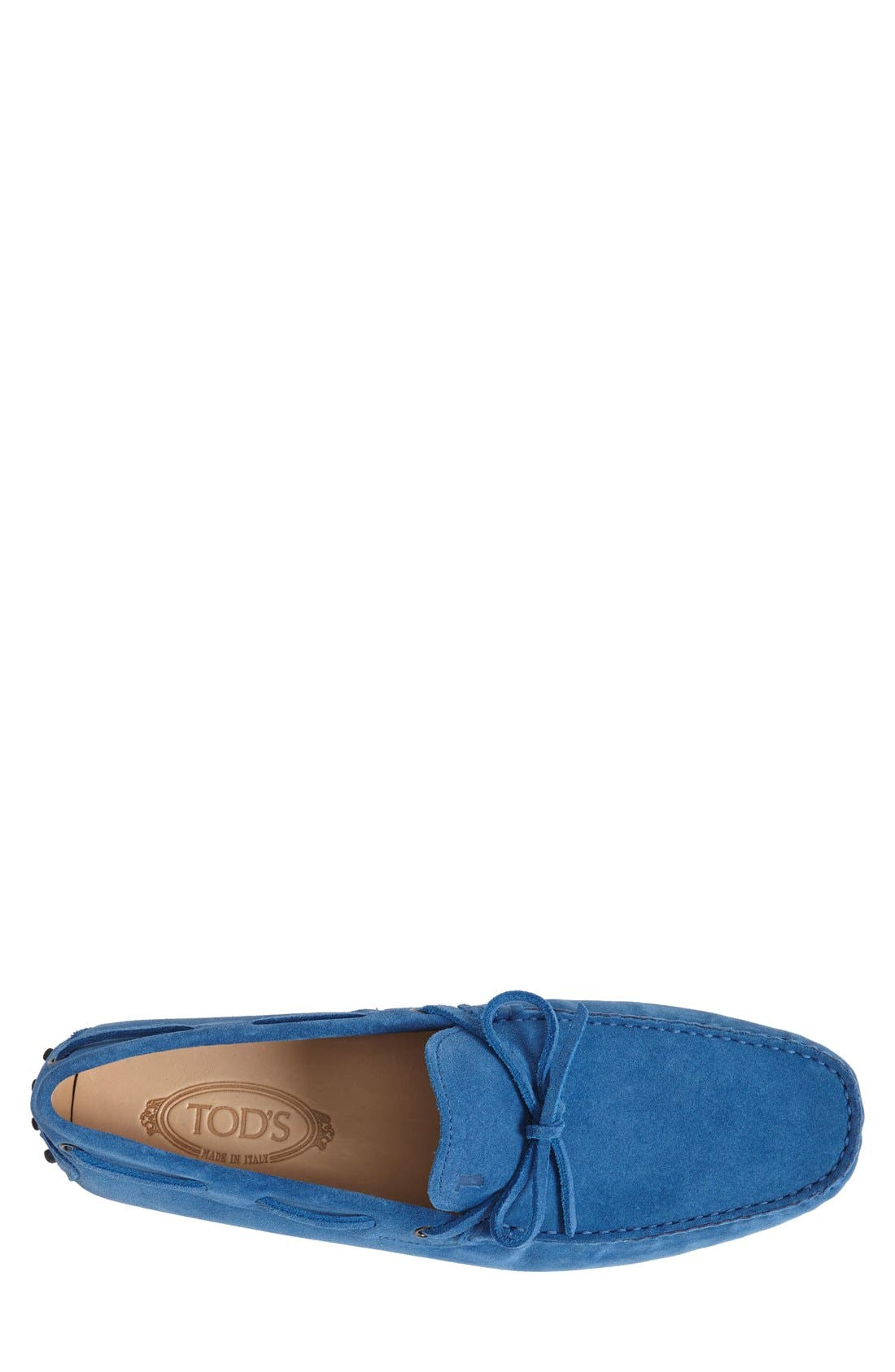 Gommini Tie Front Driving Moccasin,                             Alternate thumbnail 78, color,