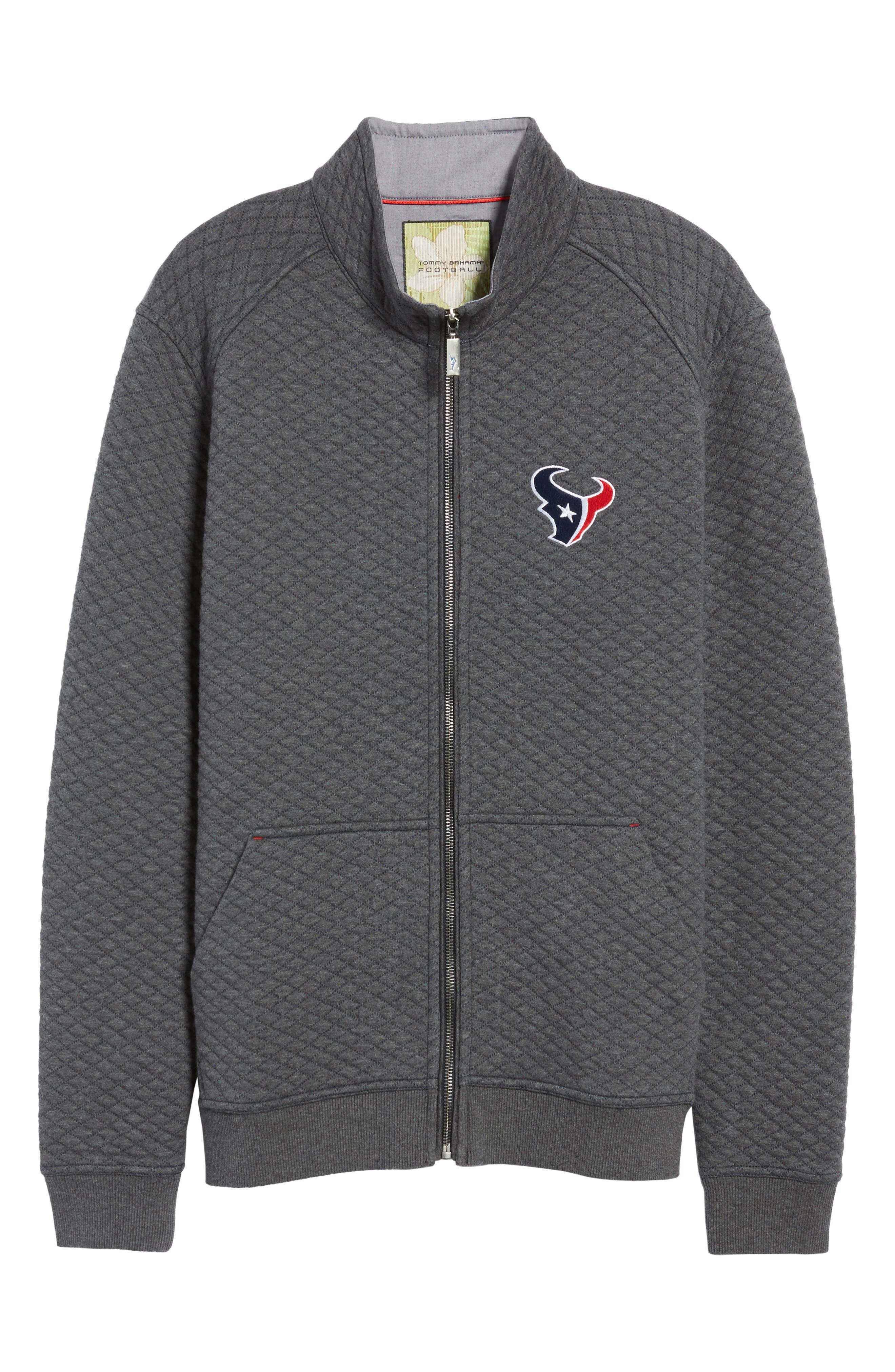 NFL Quiltessential Full Zip Sweatshirt,                             Alternate thumbnail 184, color,