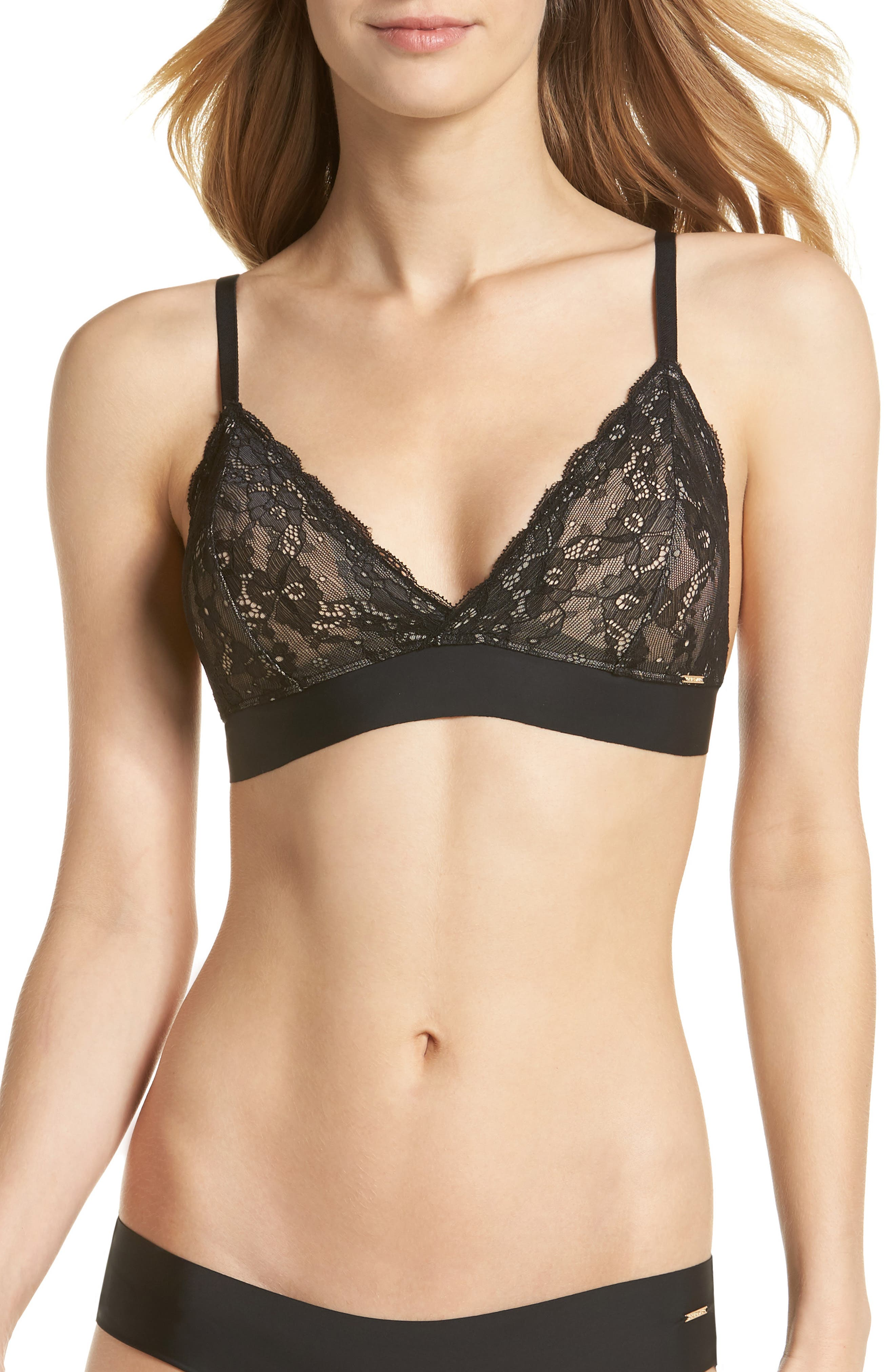 Priscilla Bralette,                         Main,                         color, 001